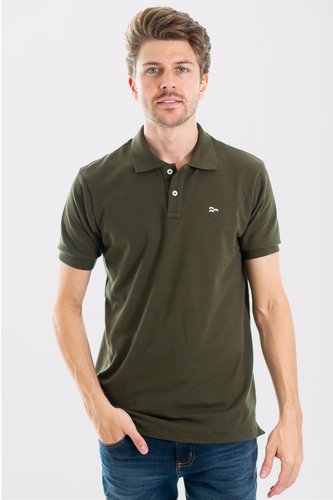 Camisa Polo Confort Cotton Green