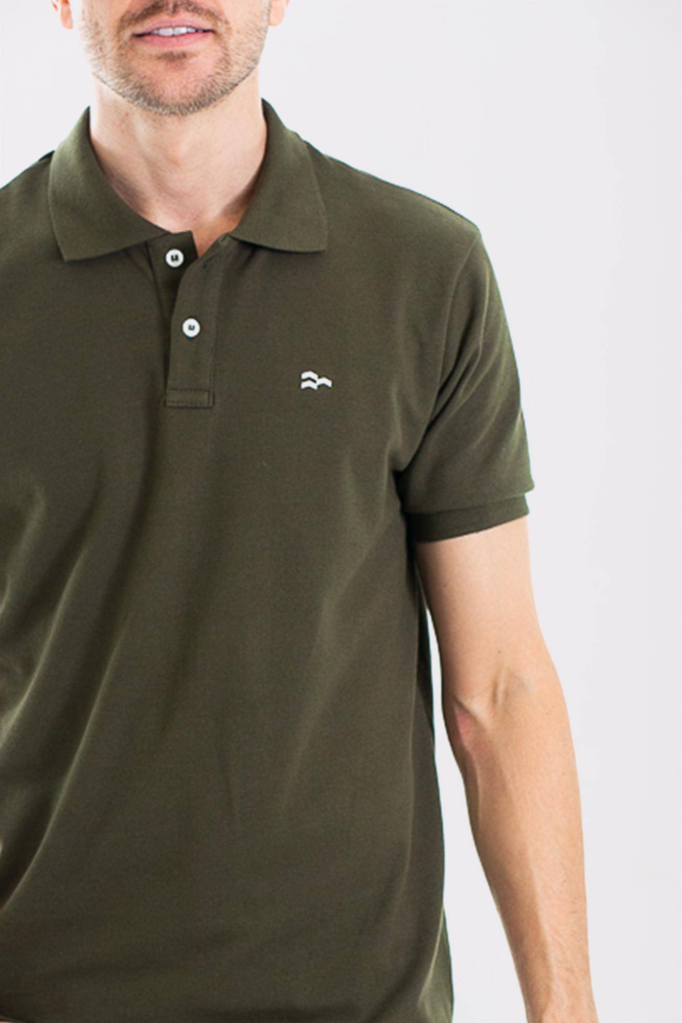 Camisa Polo Confort Cotton Green