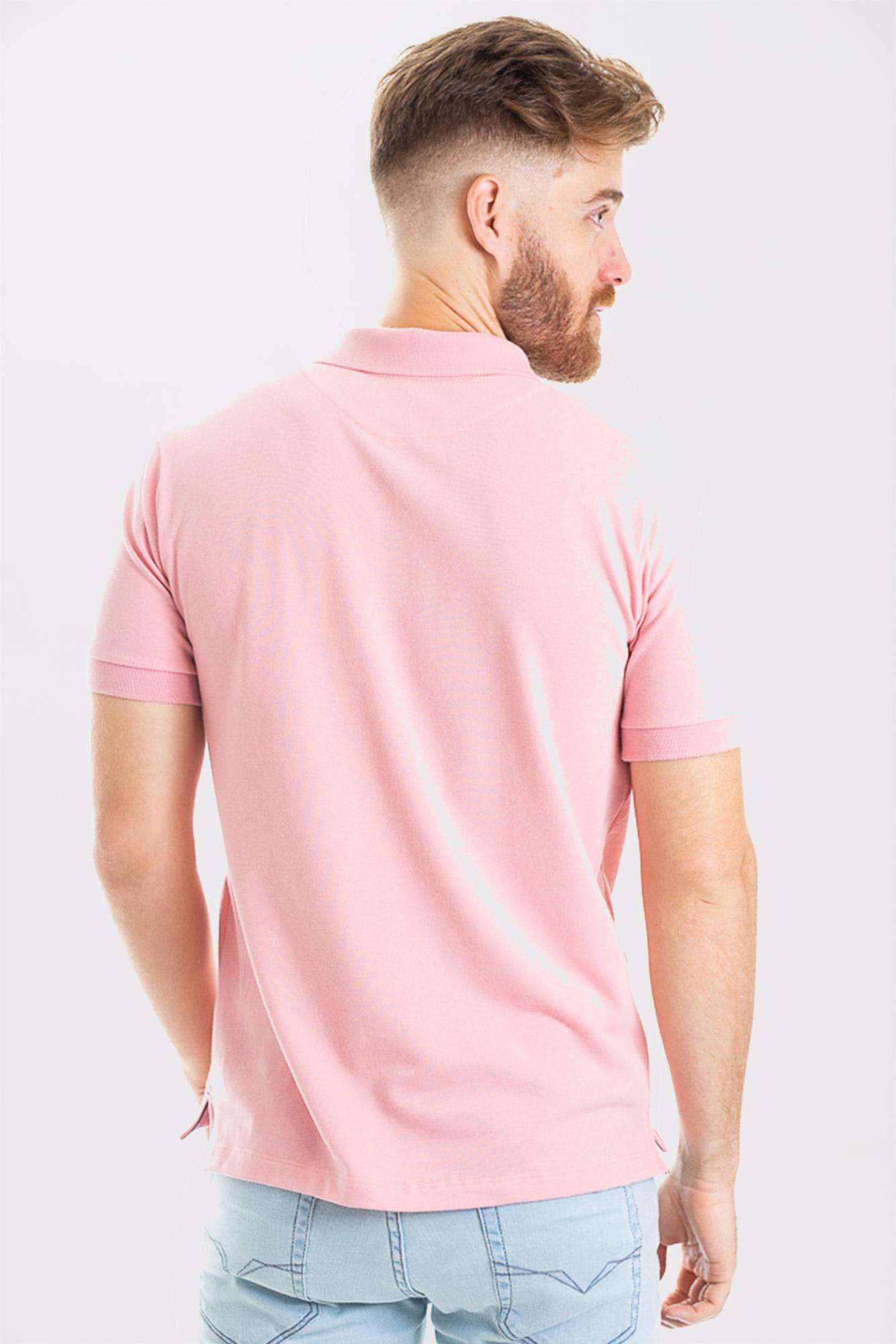 Camisa Polo Confort Cotton Salmão
