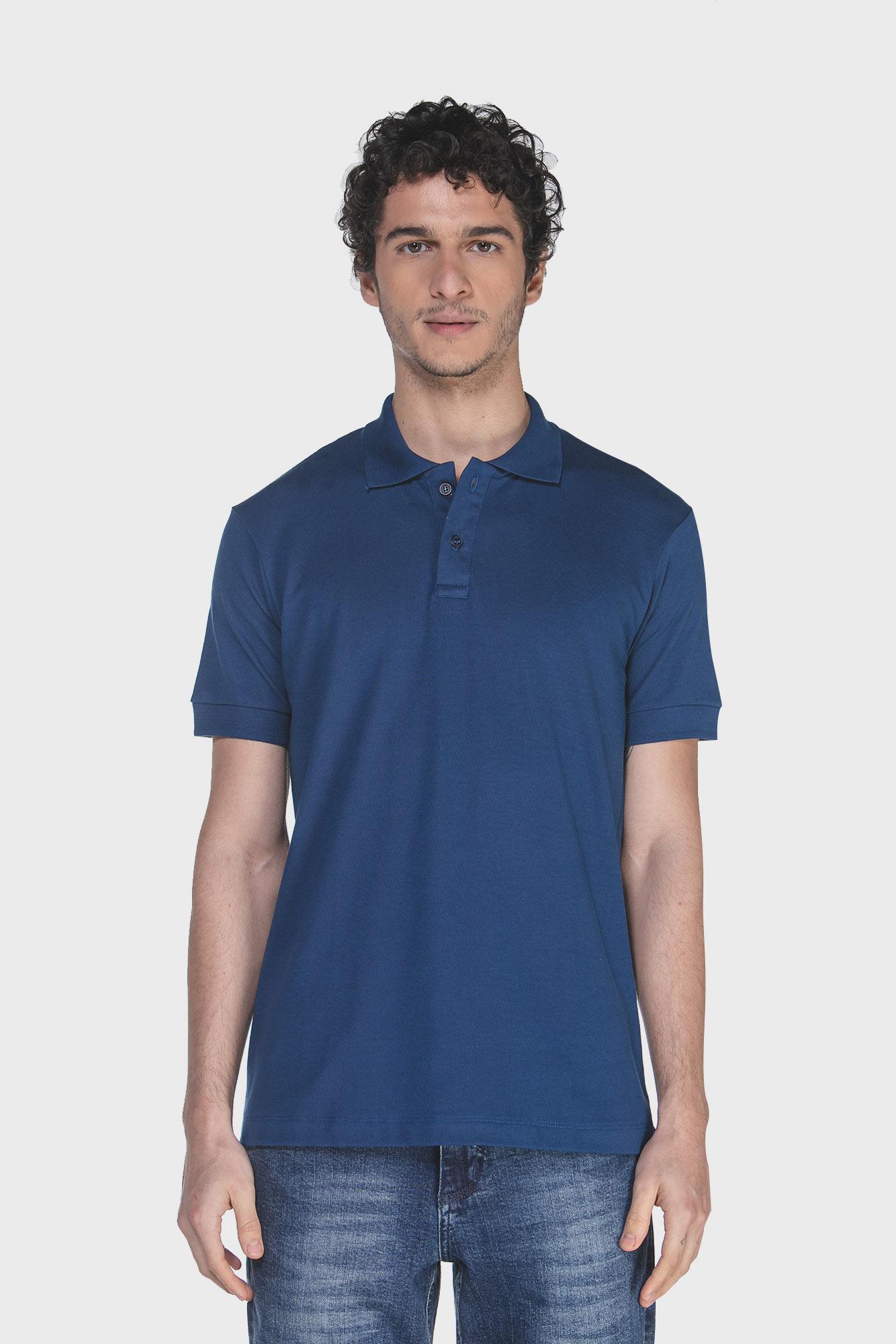 Camisa Polo Dark Blue