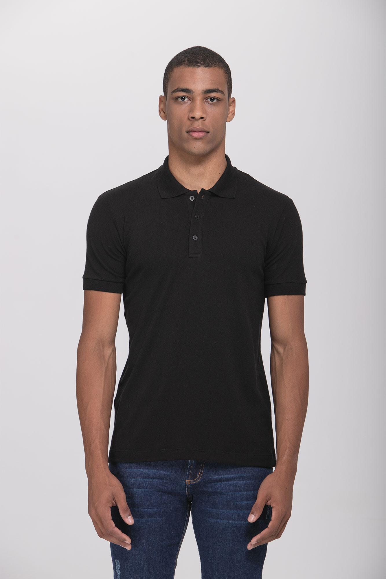 Camisa Polo Egypt Black