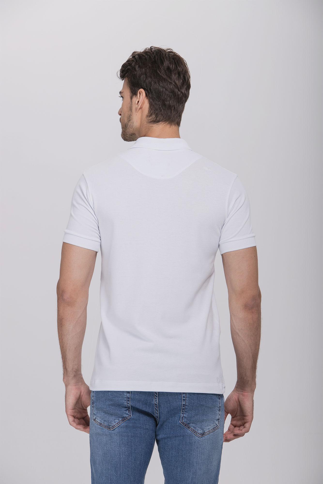 Camisa Polo Egypt White