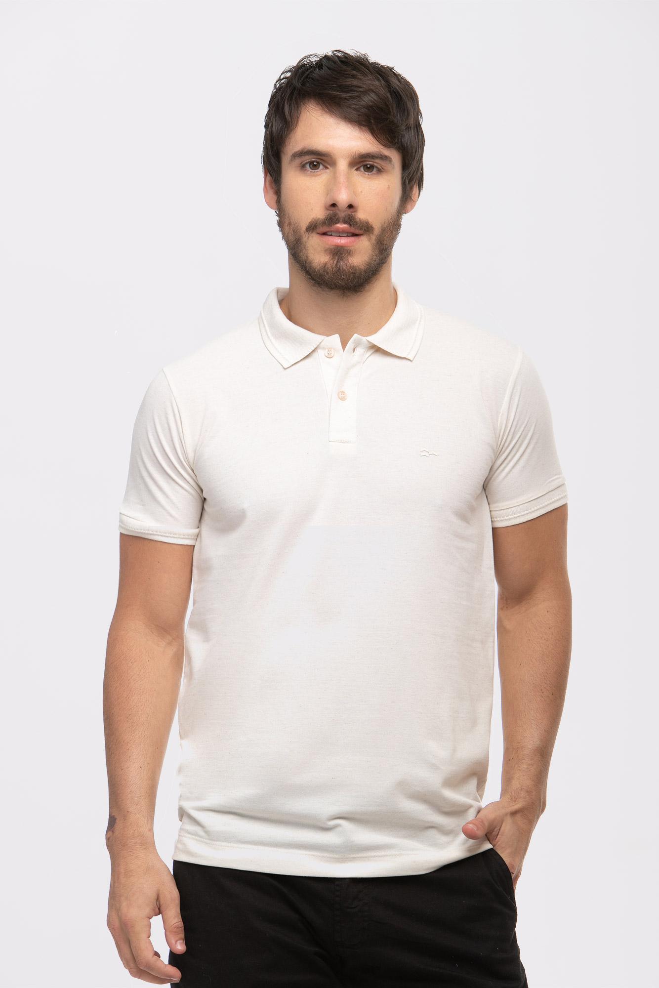 Camisa Polo Piquet Linen