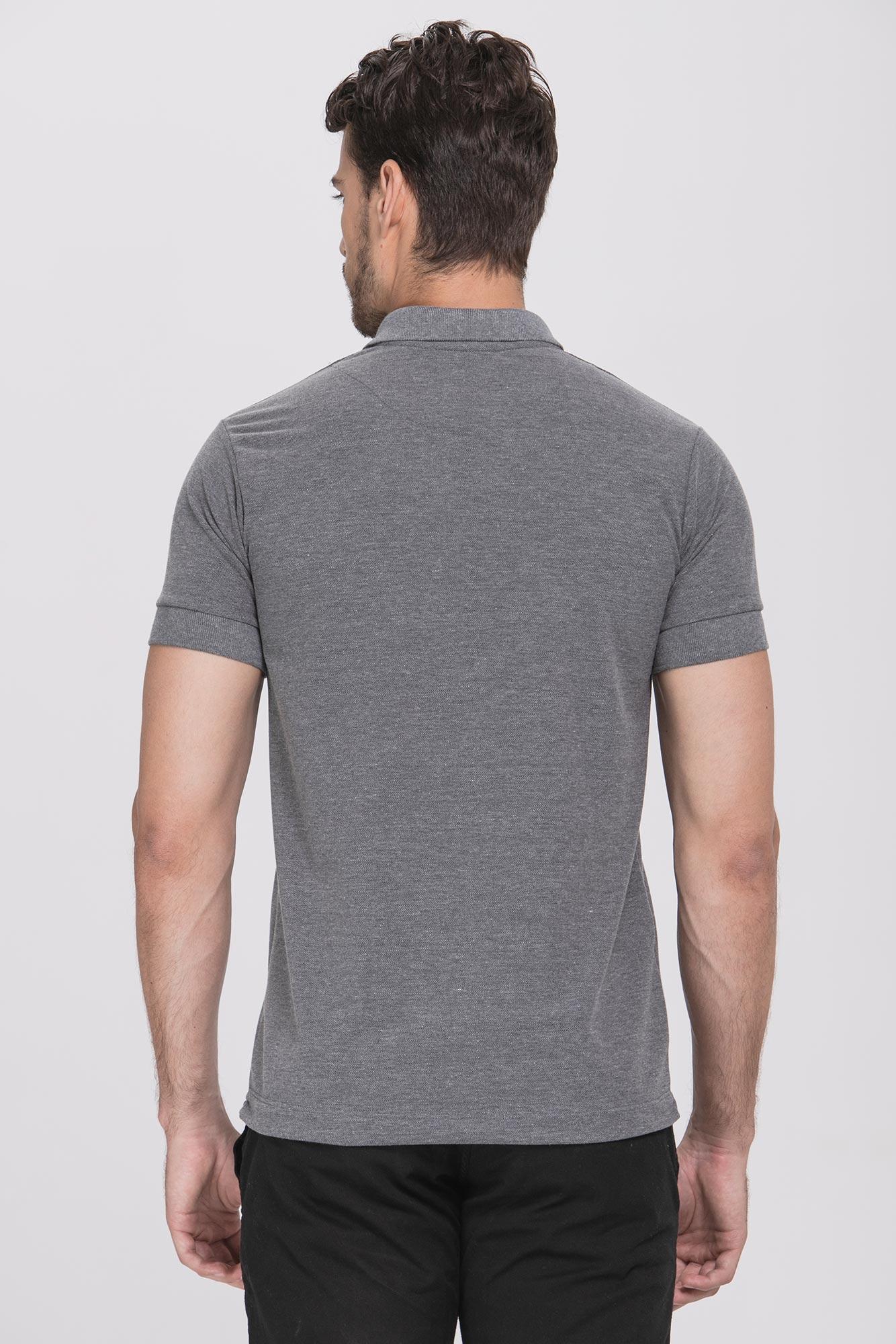Camisa Polo Vintage Gray