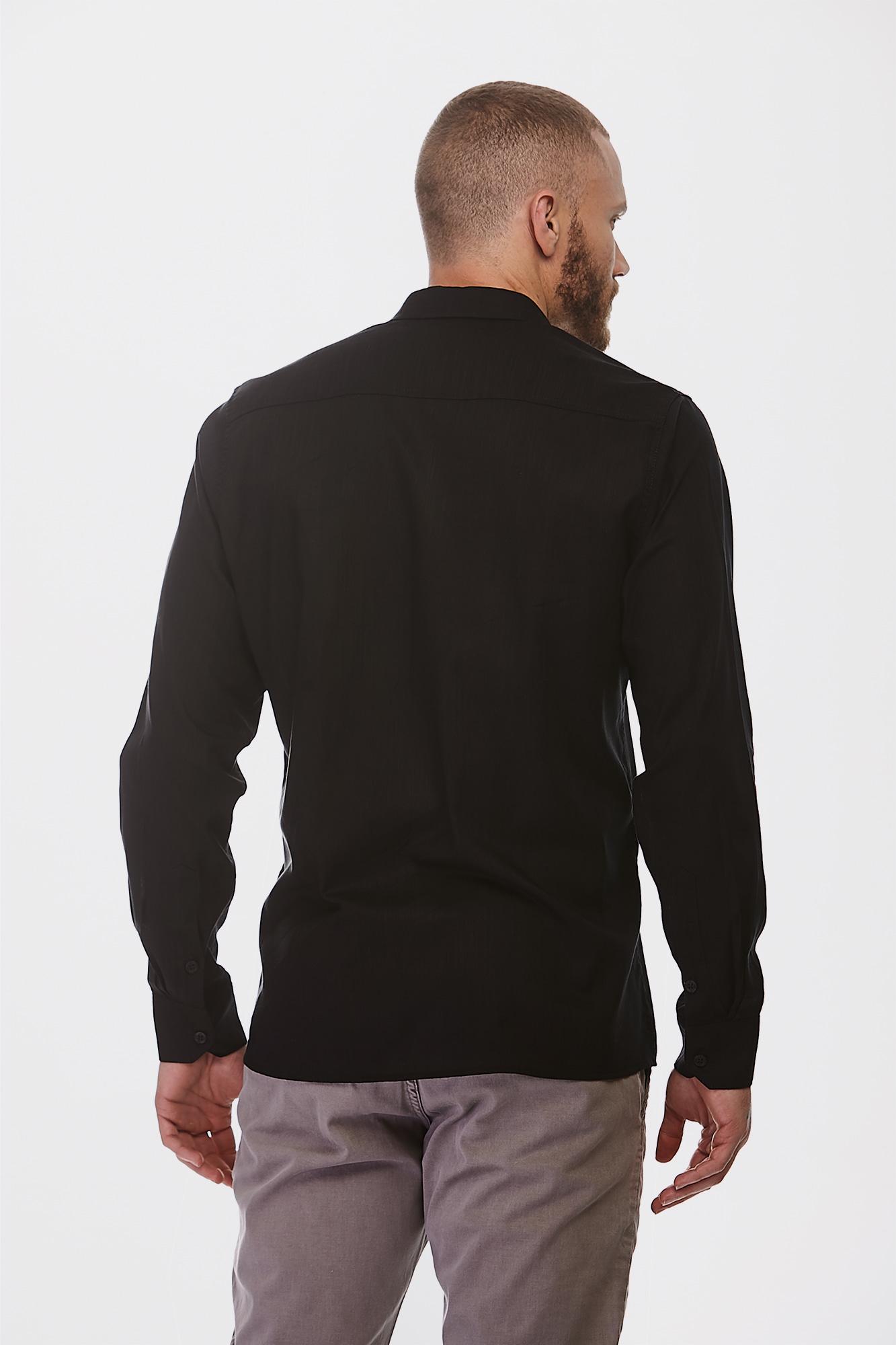 Camisa Social Ml Pure Black