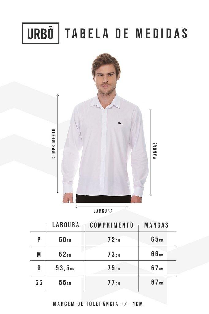 Camisa Social ML Black