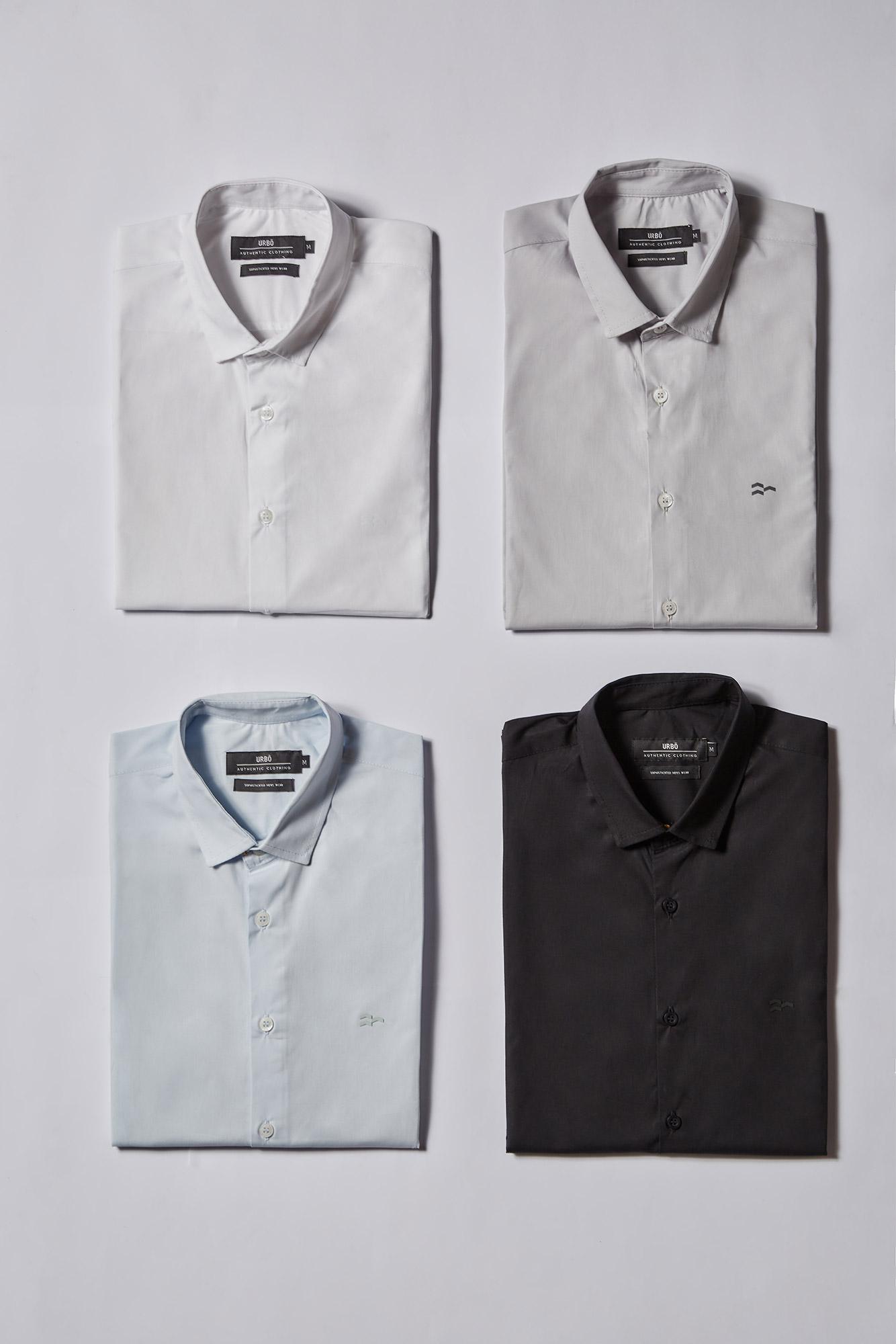 Camisa Social Ml Confort Serenity