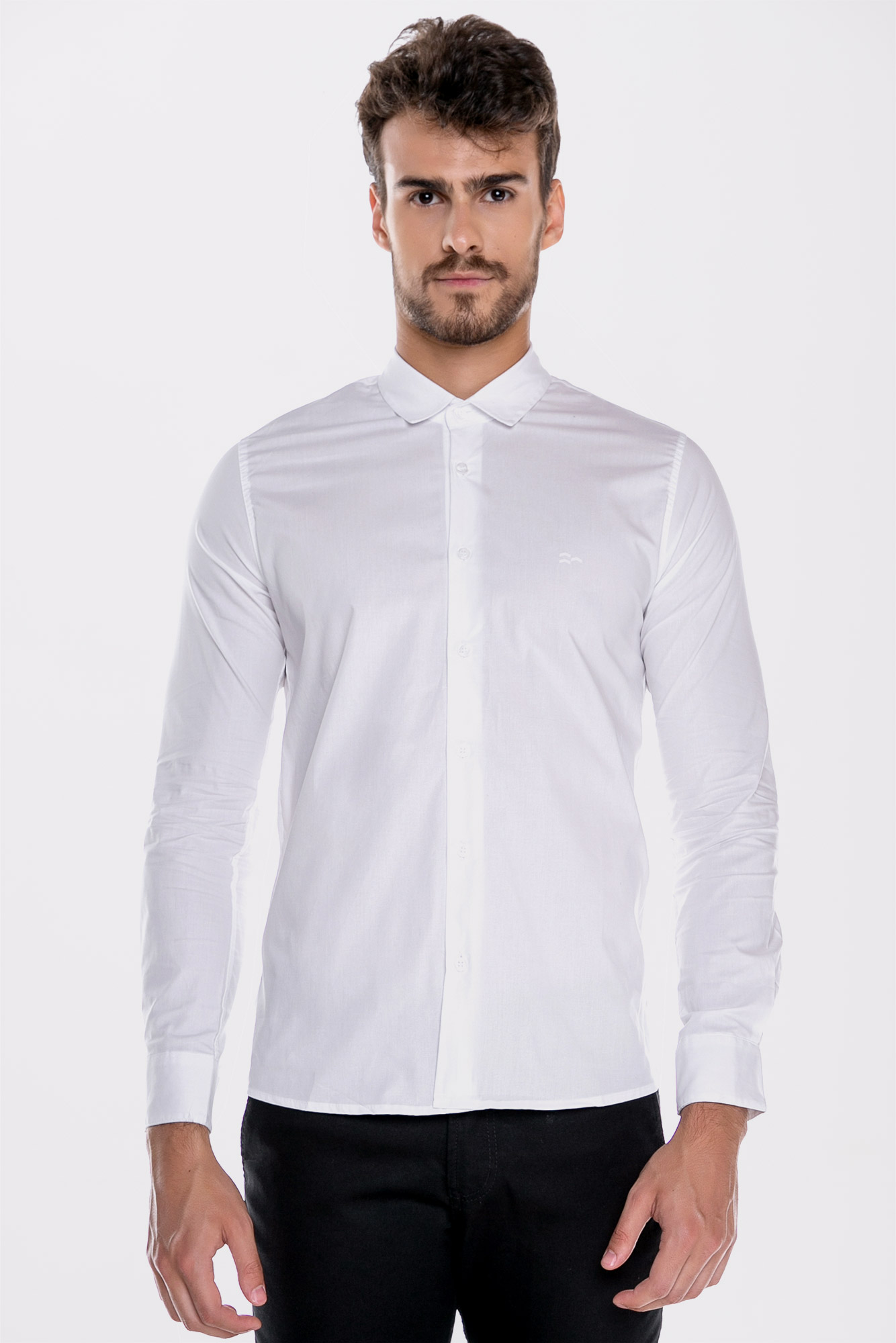 Camisa Social ML Confort White