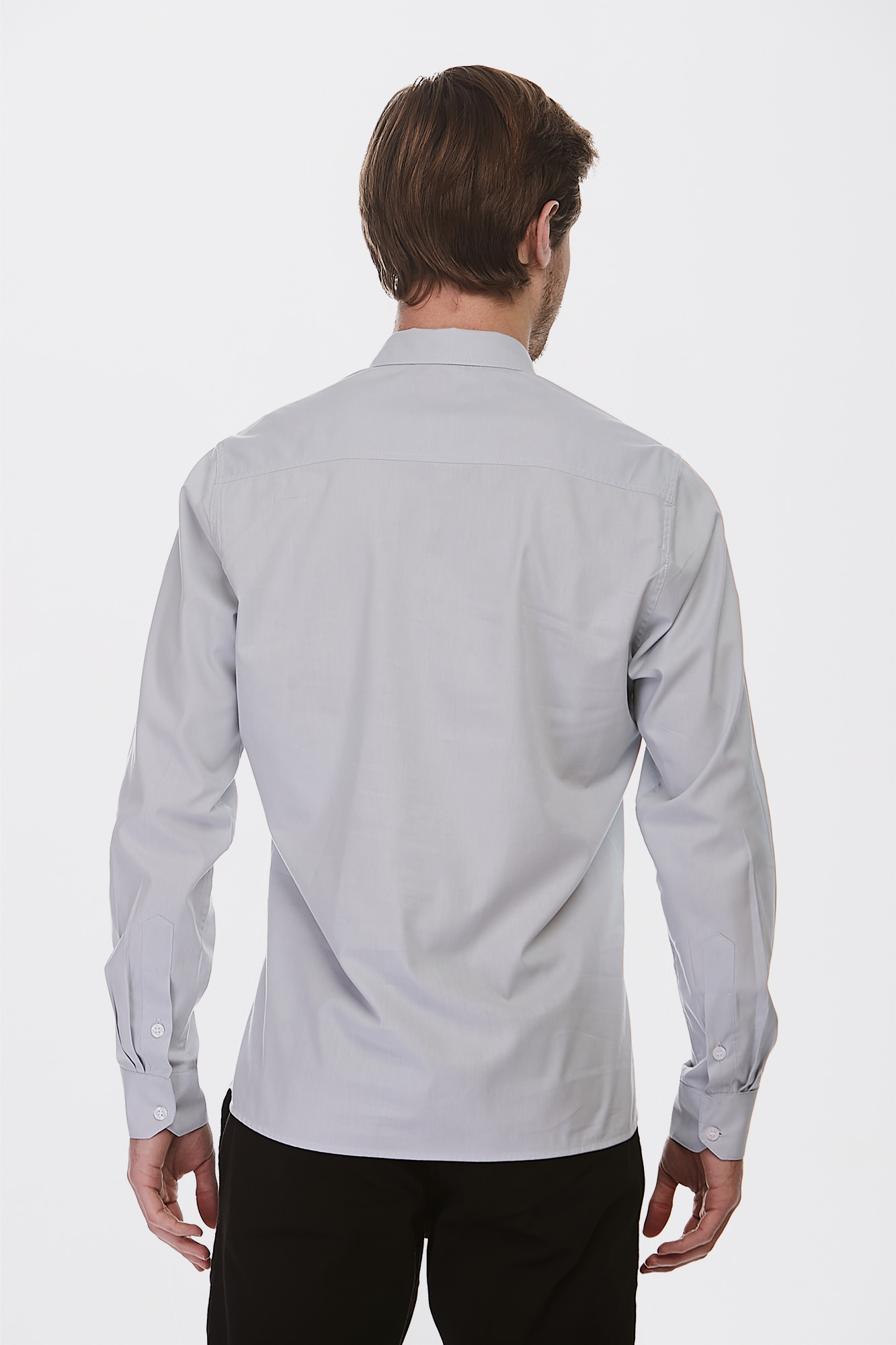 Camisa Social Ml Gray