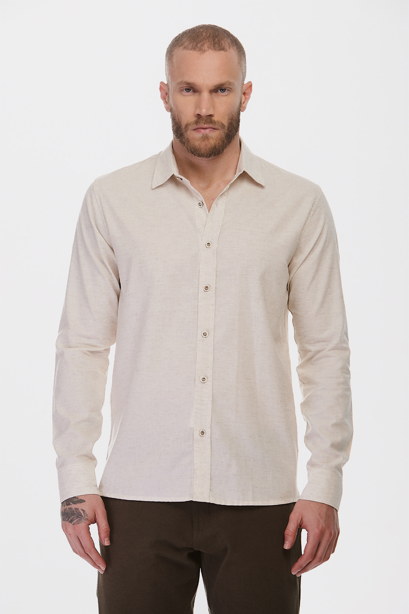 Camisa Social ML Pure Nature