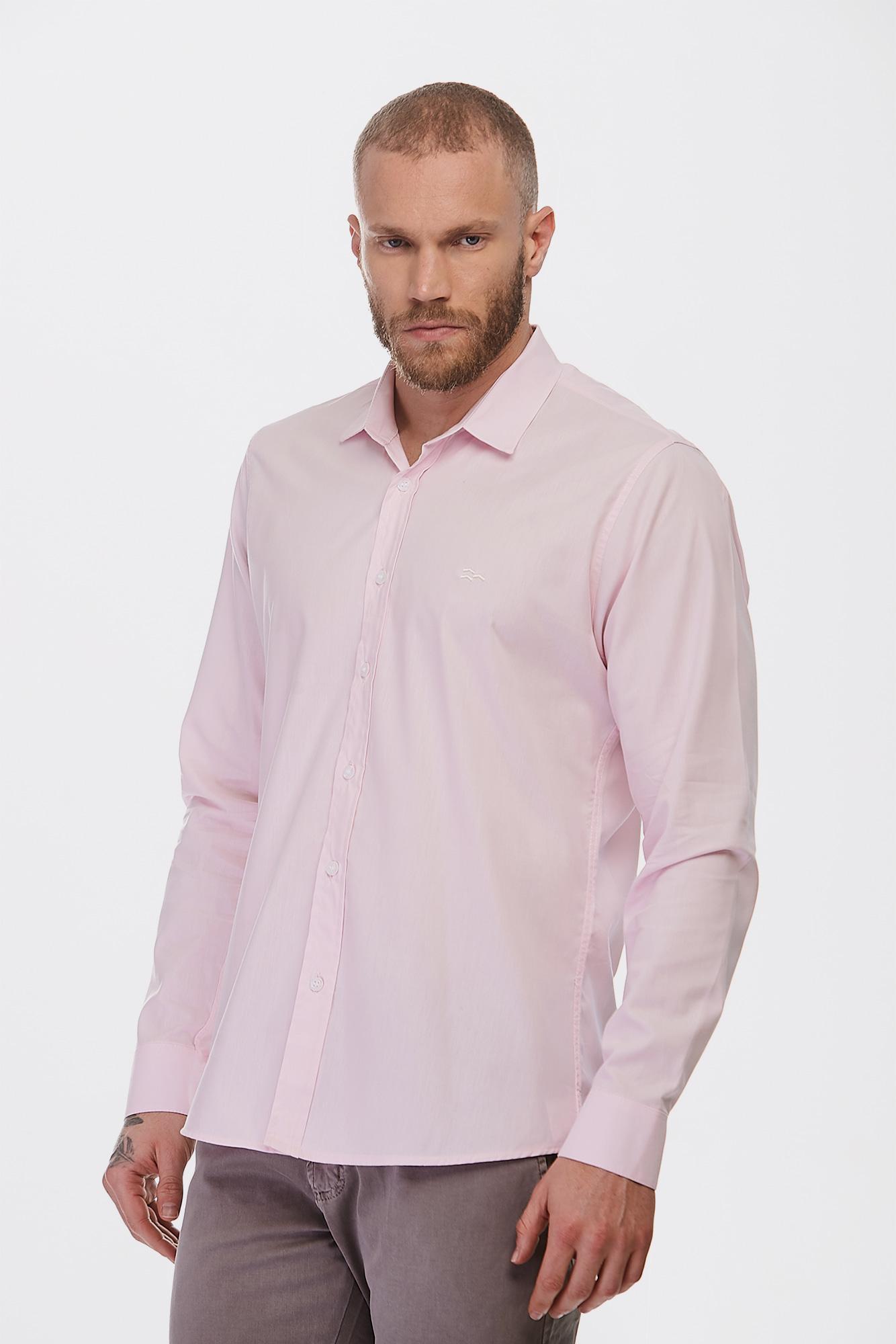 Camisa Social Ml Salmão