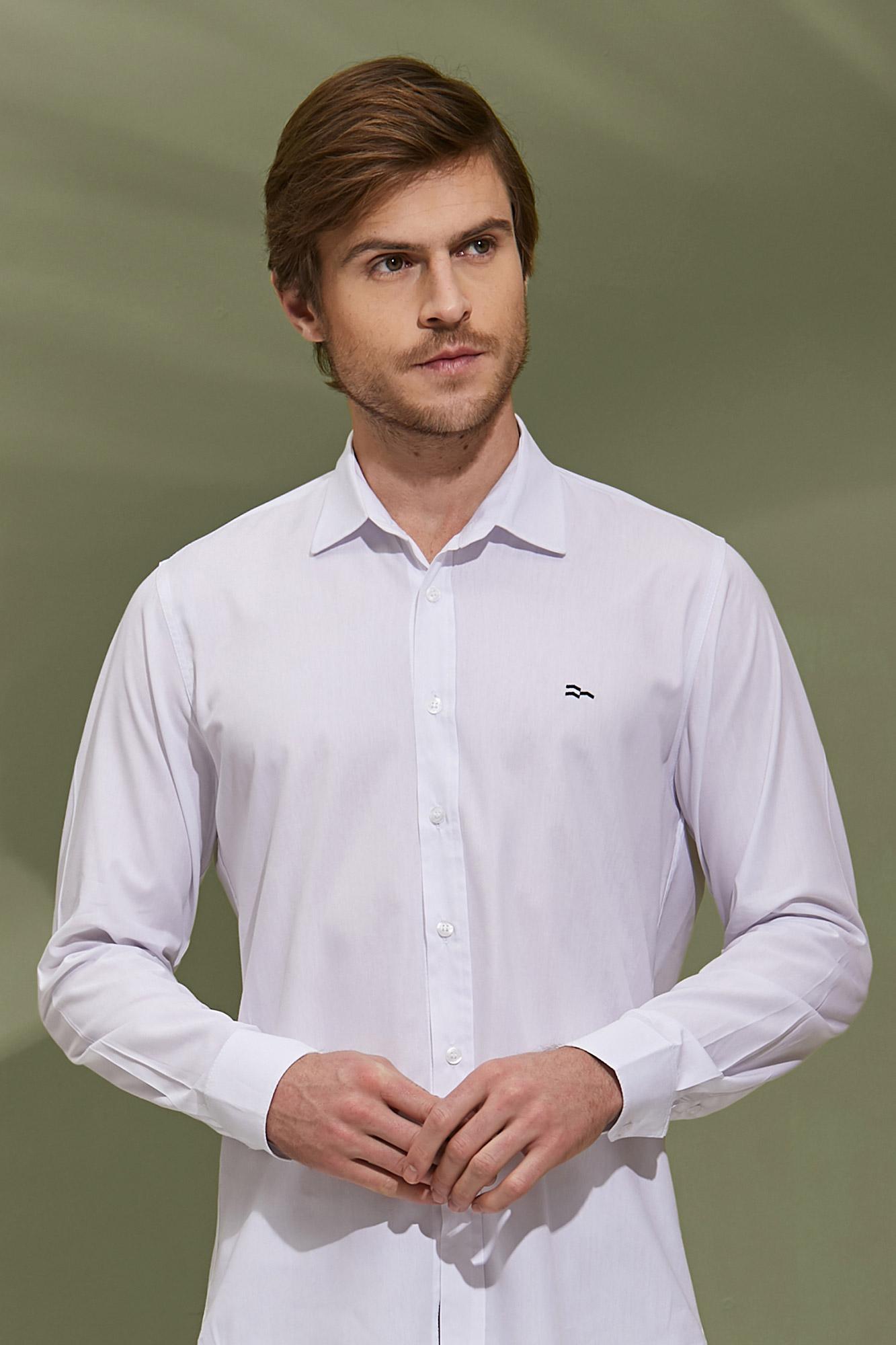 Camisa Social ML White