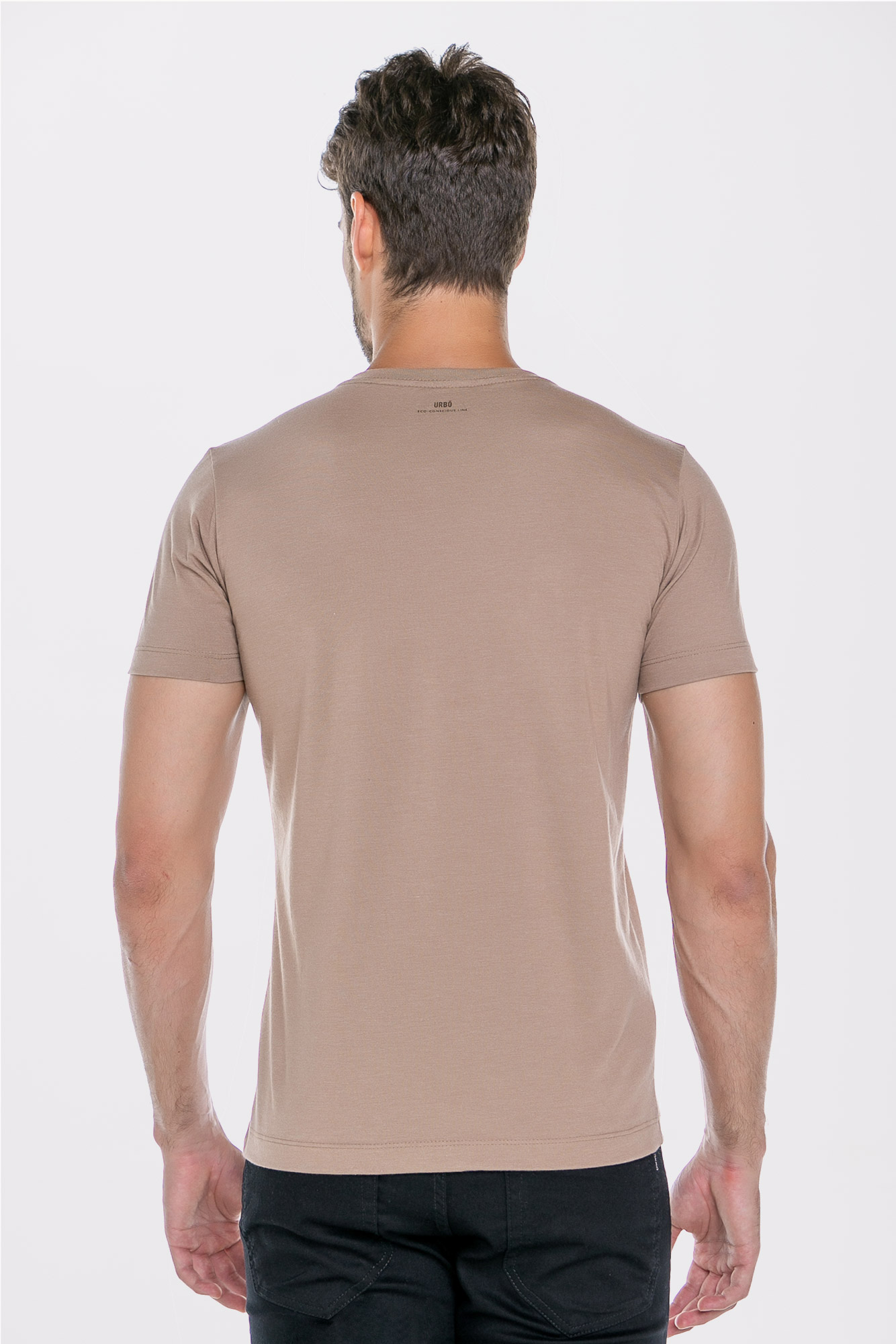 Camiseta After Coffee Bege