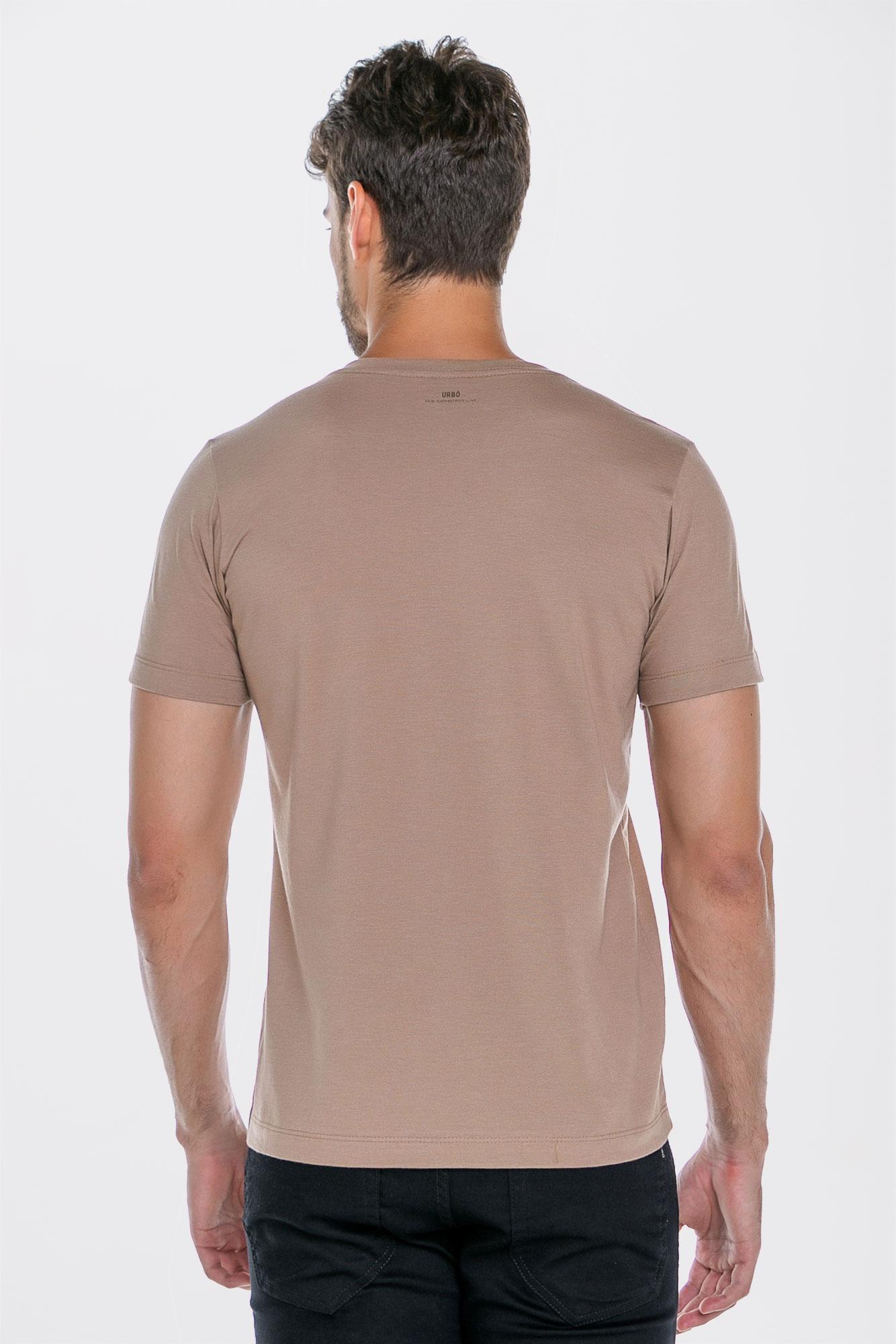 Camiseta Basic Coffee Bege