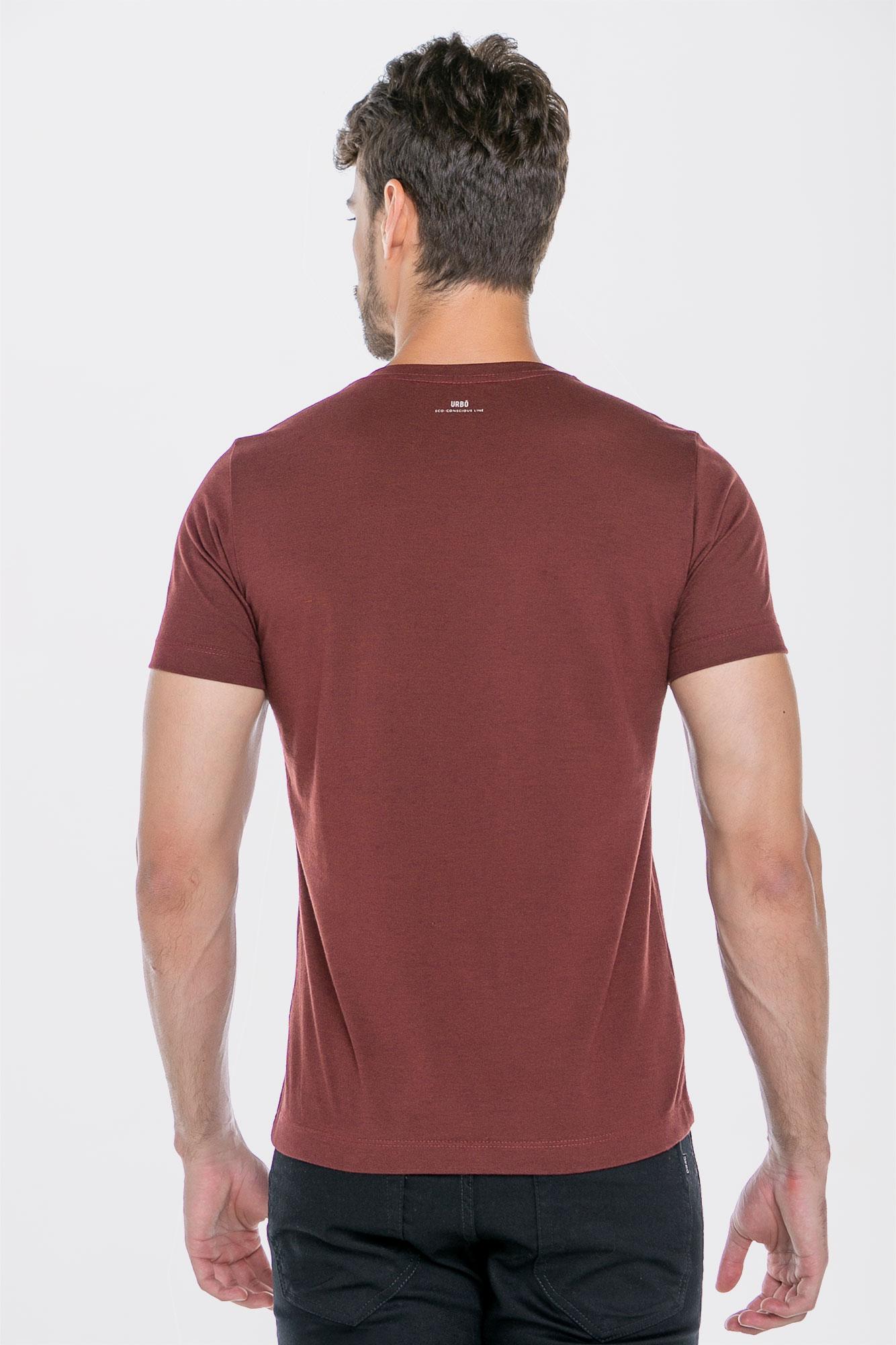 Camiseta Basic Coffee Vino