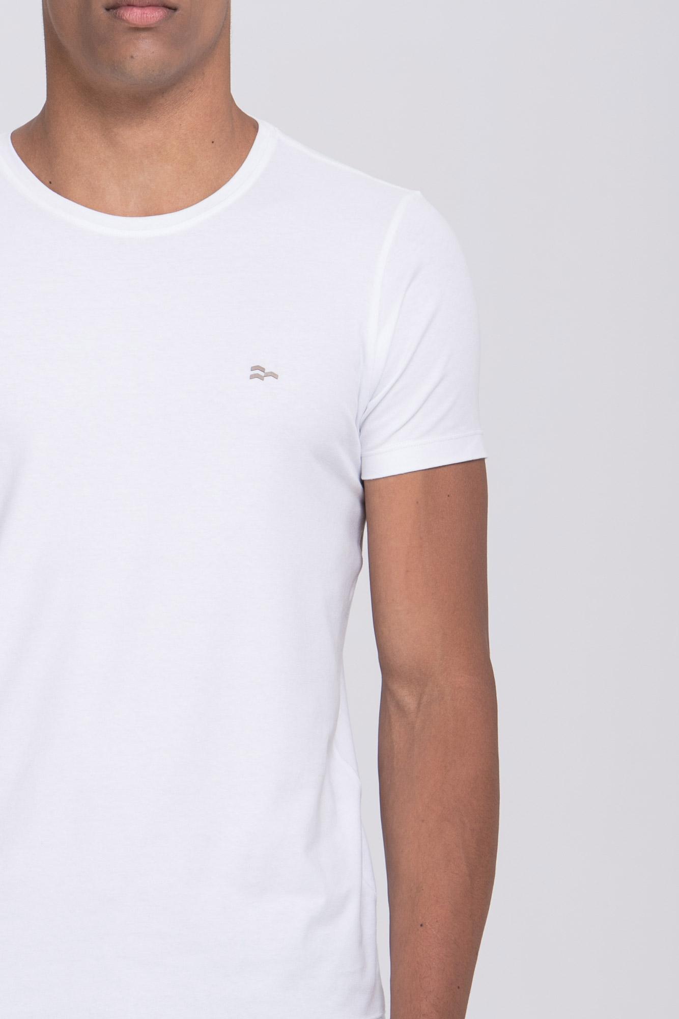 Camiseta Basic Egypt Branco/Marrom