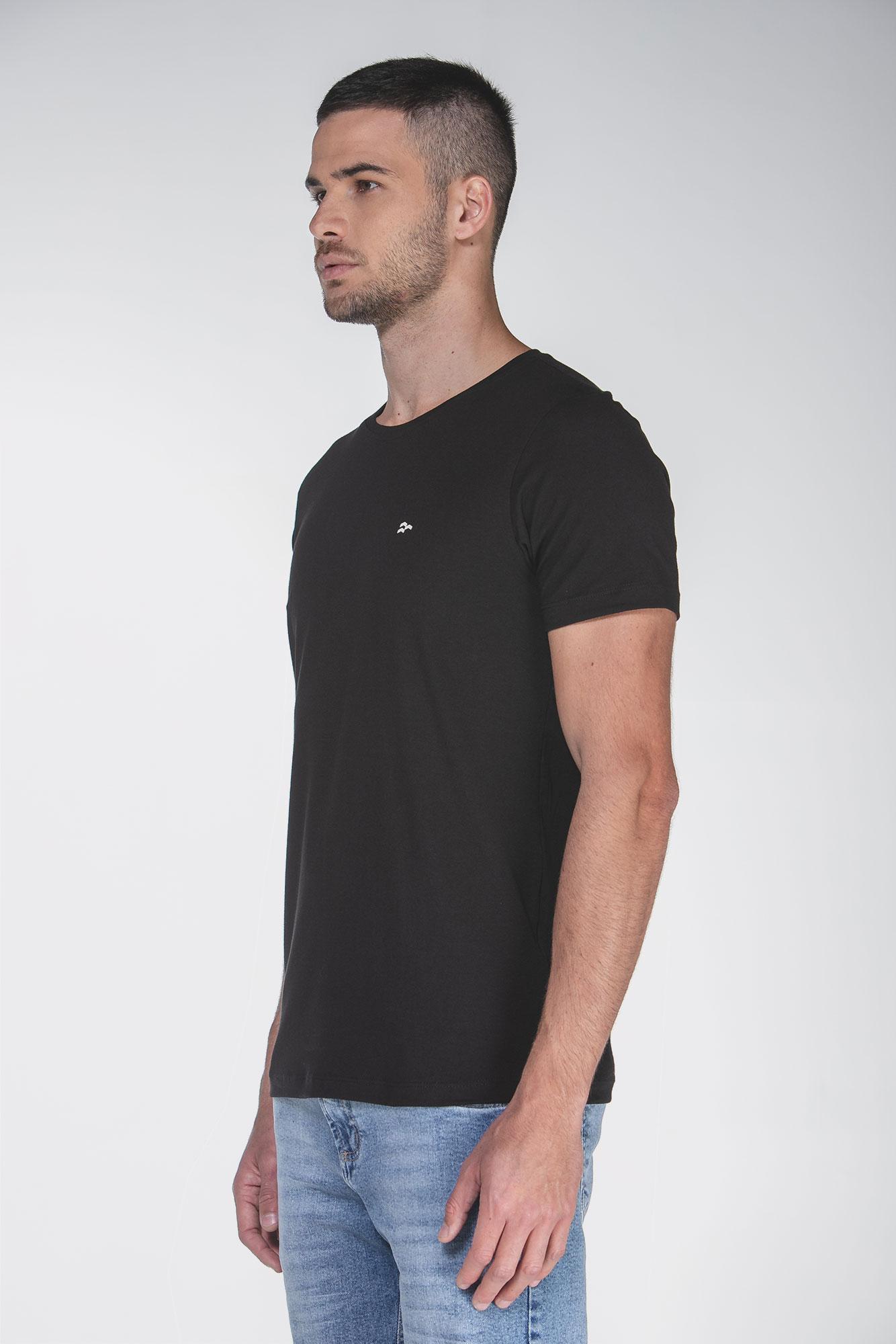 Camiseta Basic Egypt Preto/Branco