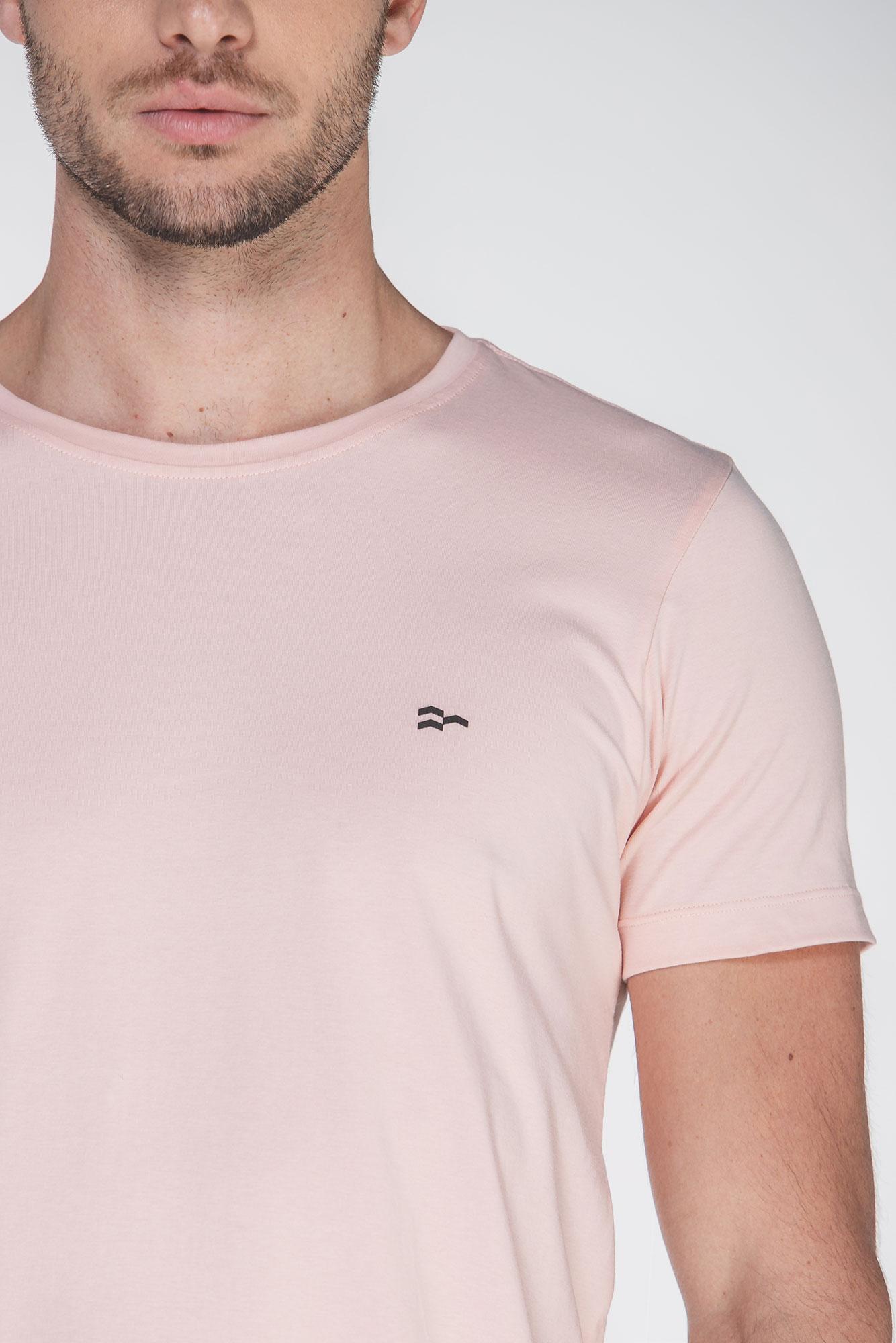 Camiseta Basic Egypt Salmão/Preto