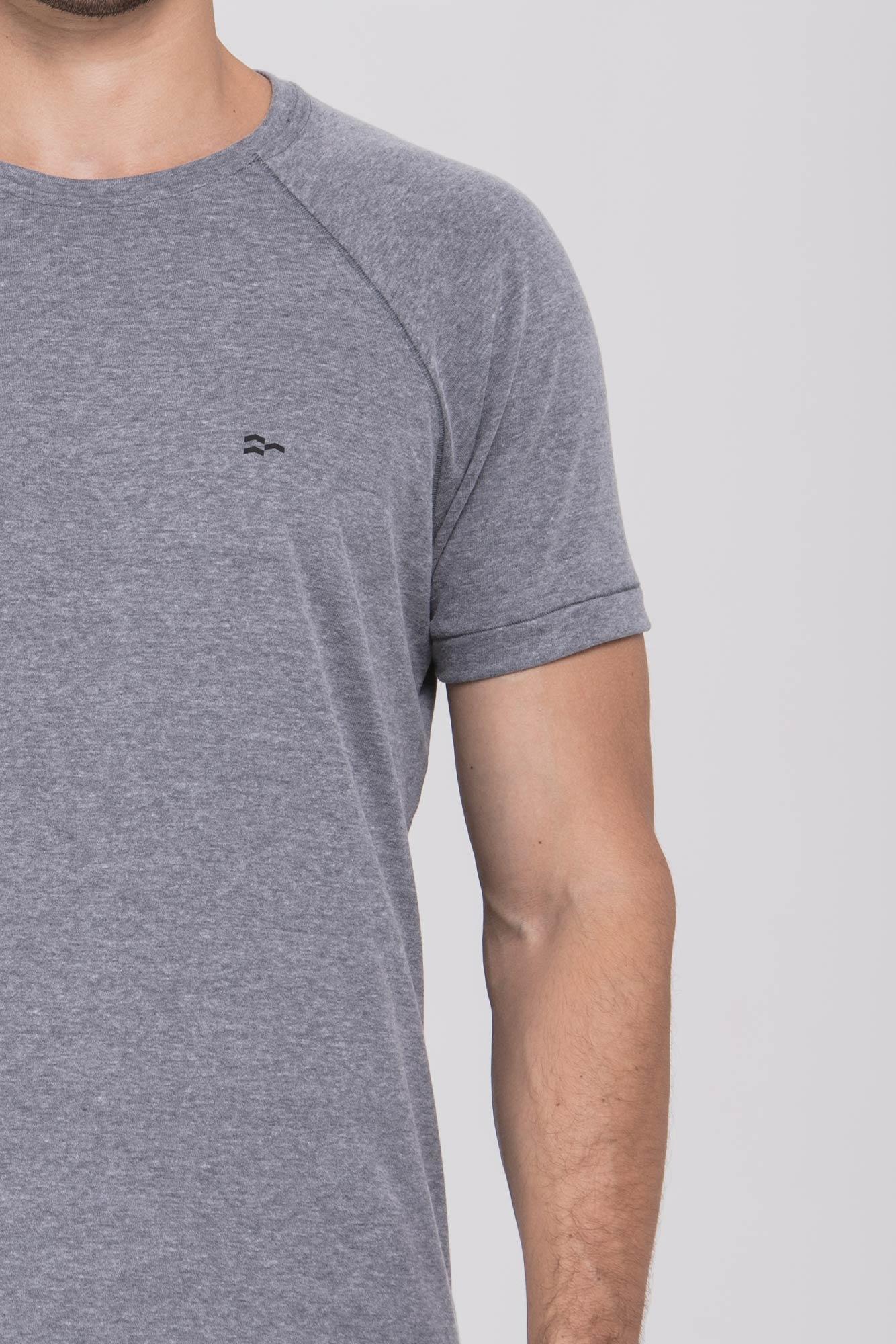 Camiseta Basic Vellutato Cinza