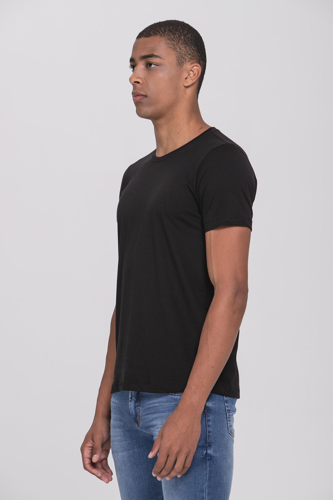 Camiseta Cotton Egypt Preta