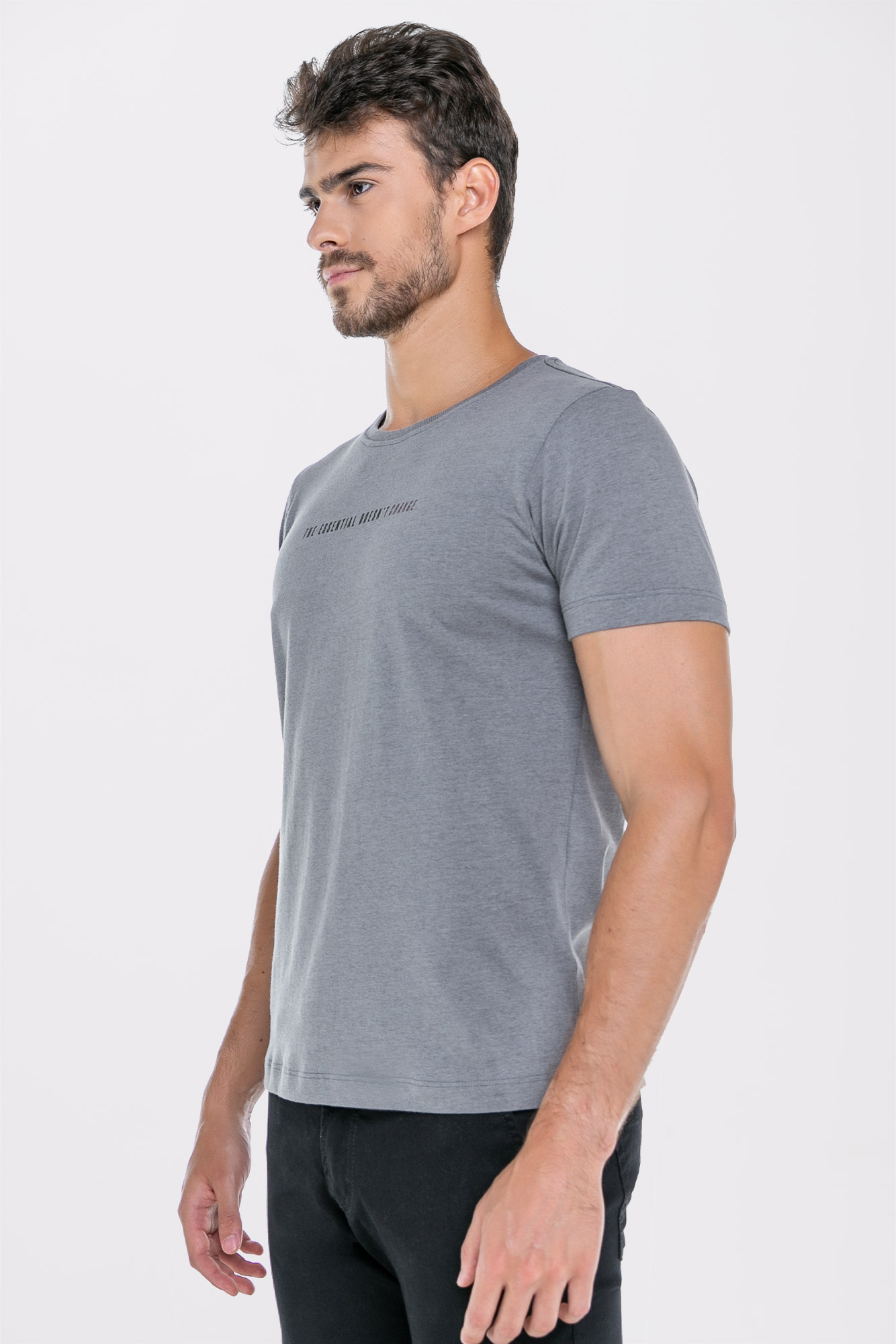 Camiseta Doesnt Change Cinza