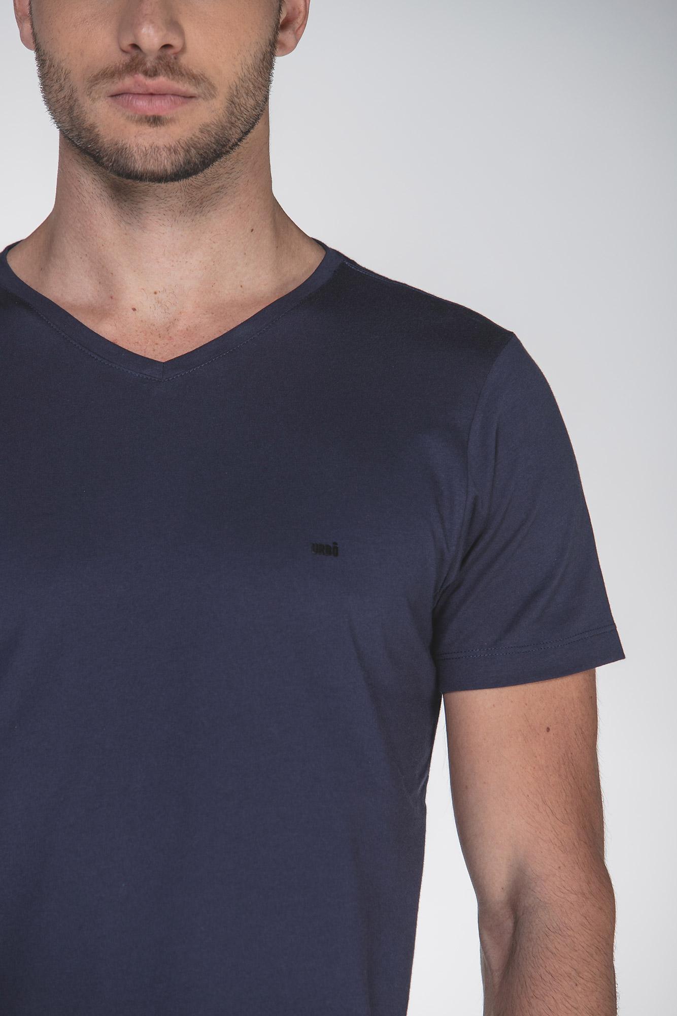 Camiseta Egypt Simple V Azul
