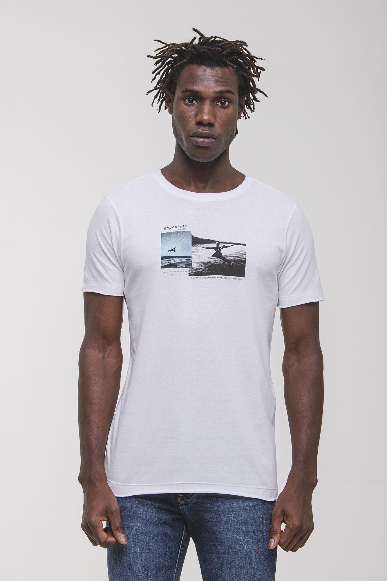 Camiseta Endorphin Branca