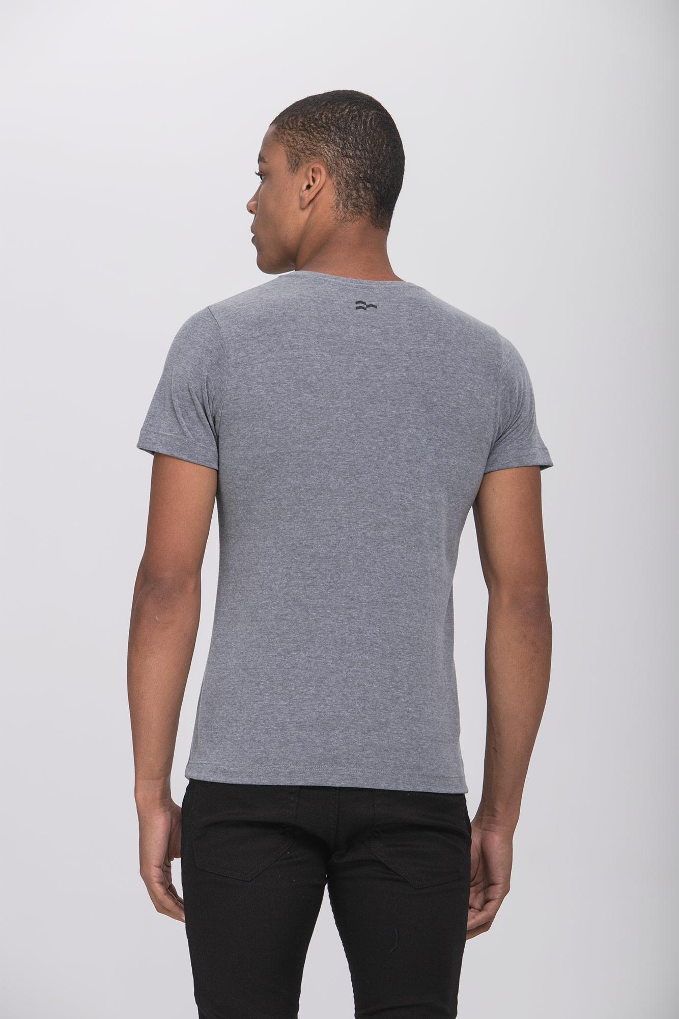 Camiseta Evoluir Cinza