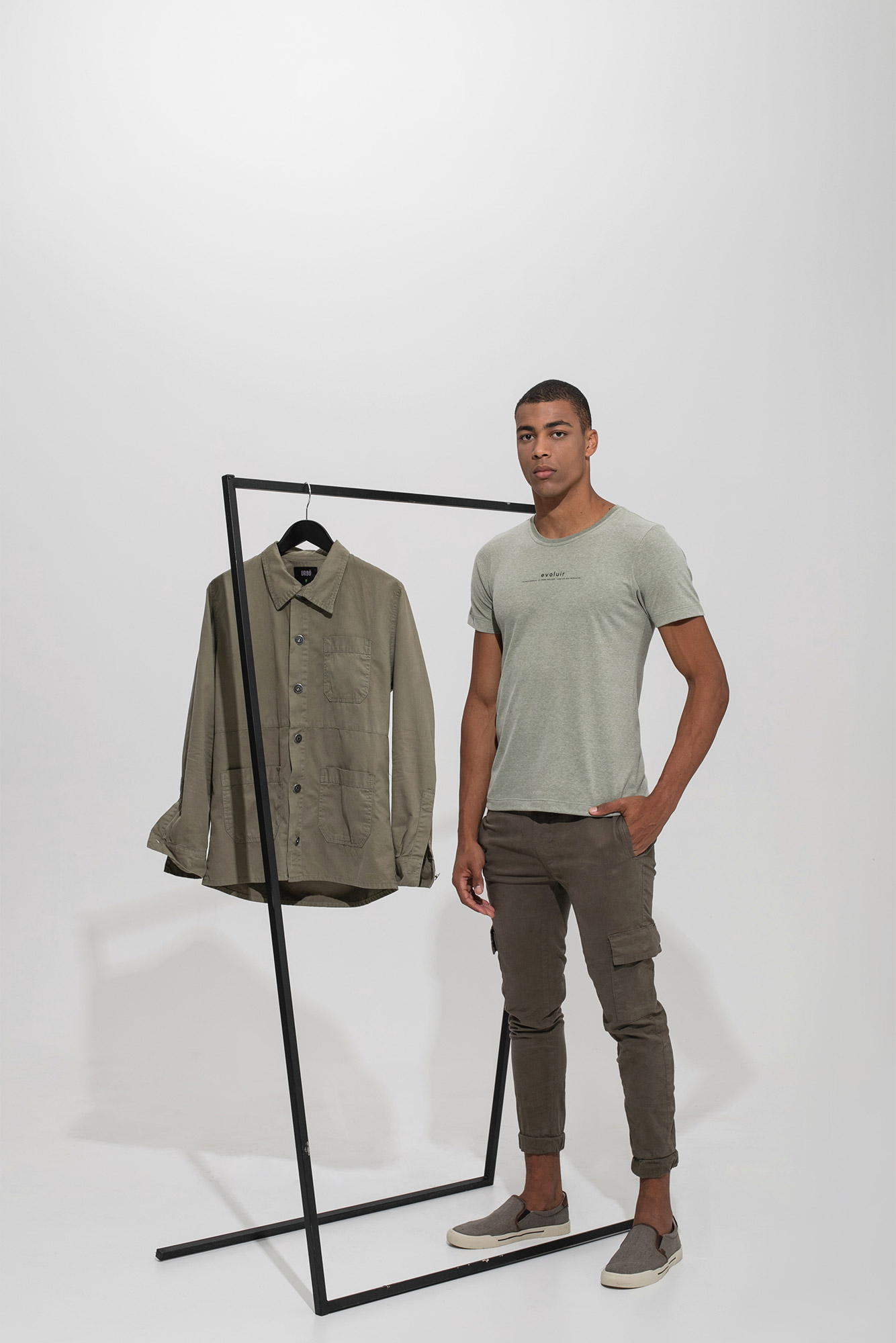 Camiseta Evoluir Verde