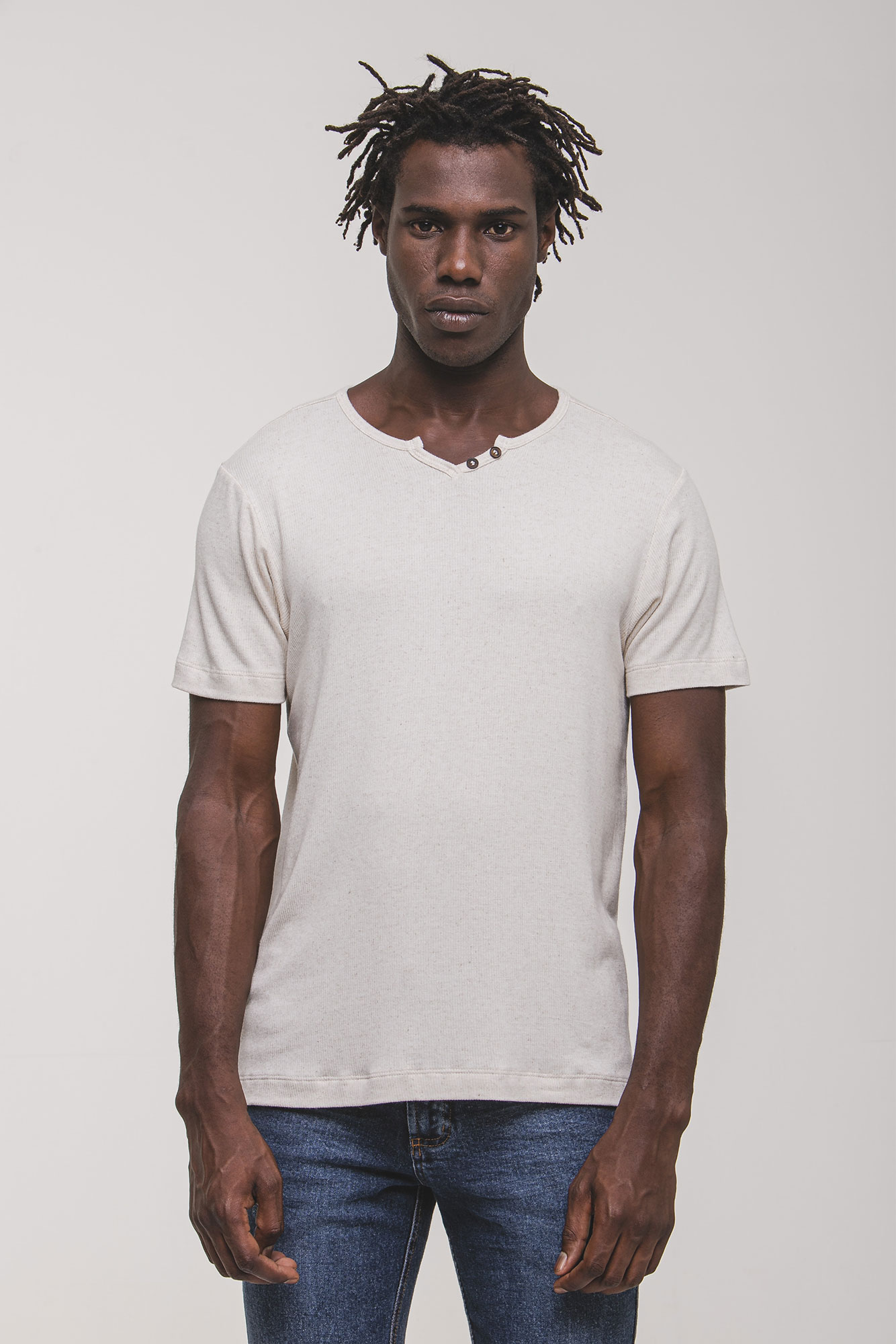 Camiseta Henley Marfinno