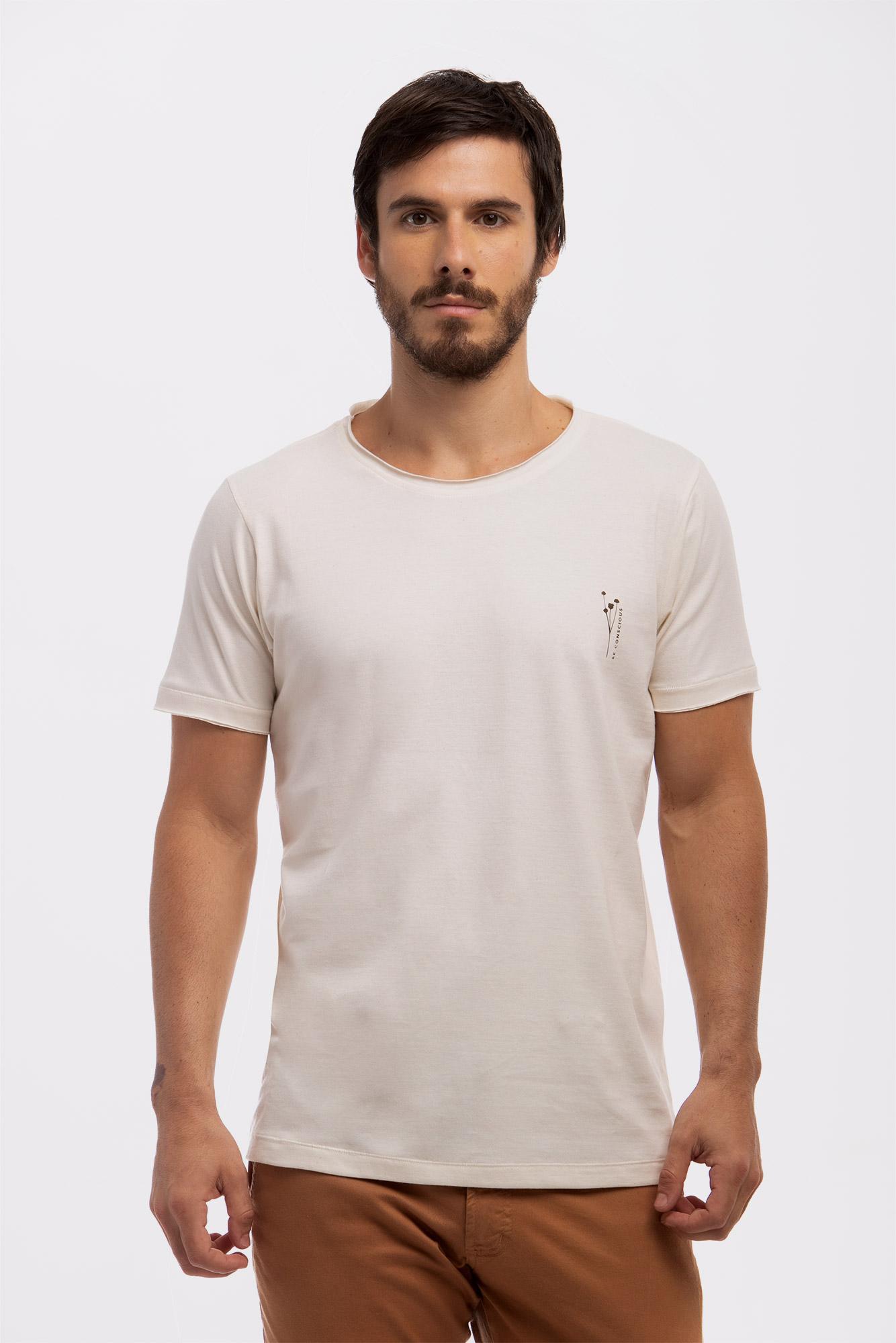 Camiseta Leaves Be Conscious