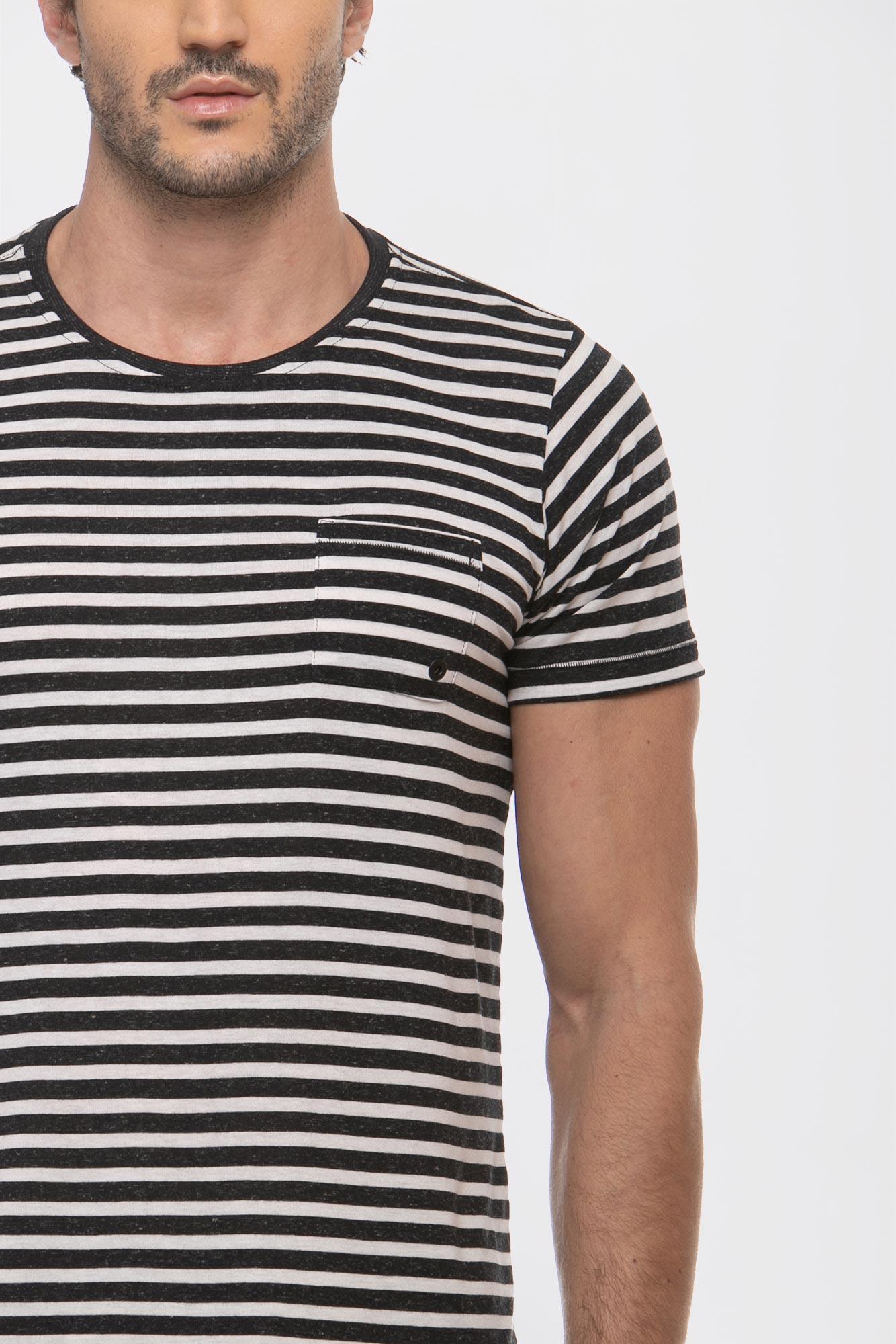 Camiseta Maxi Lines Black