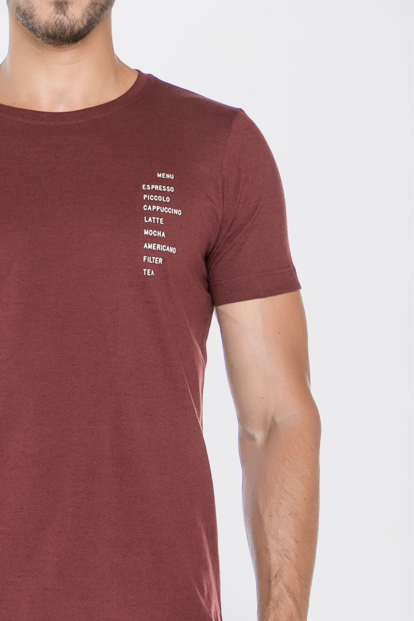 Camiseta Menu Coffee
