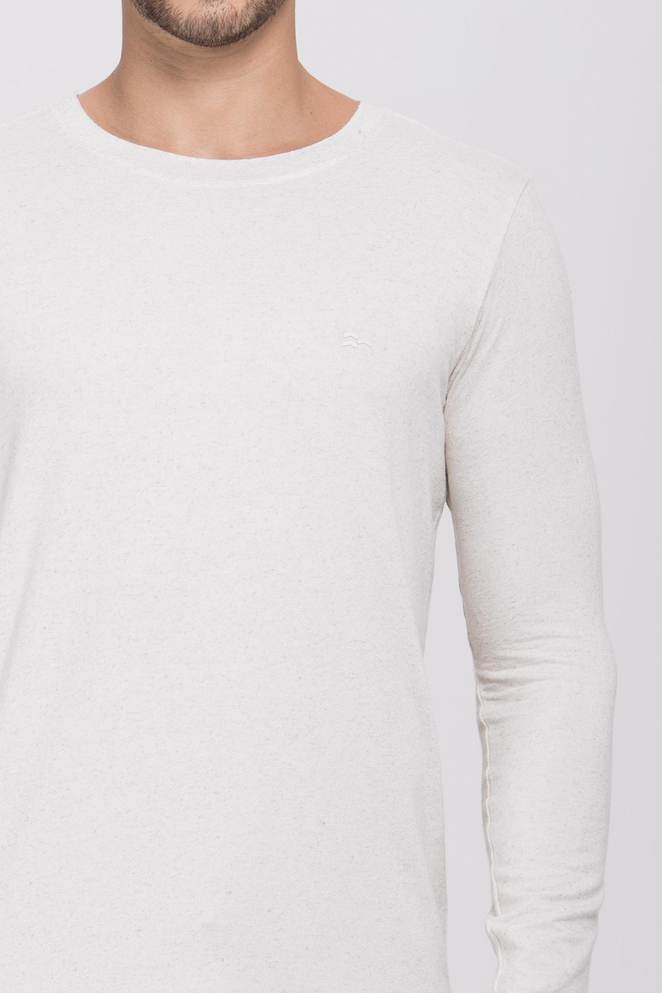 Camiseta ML Lino Natural