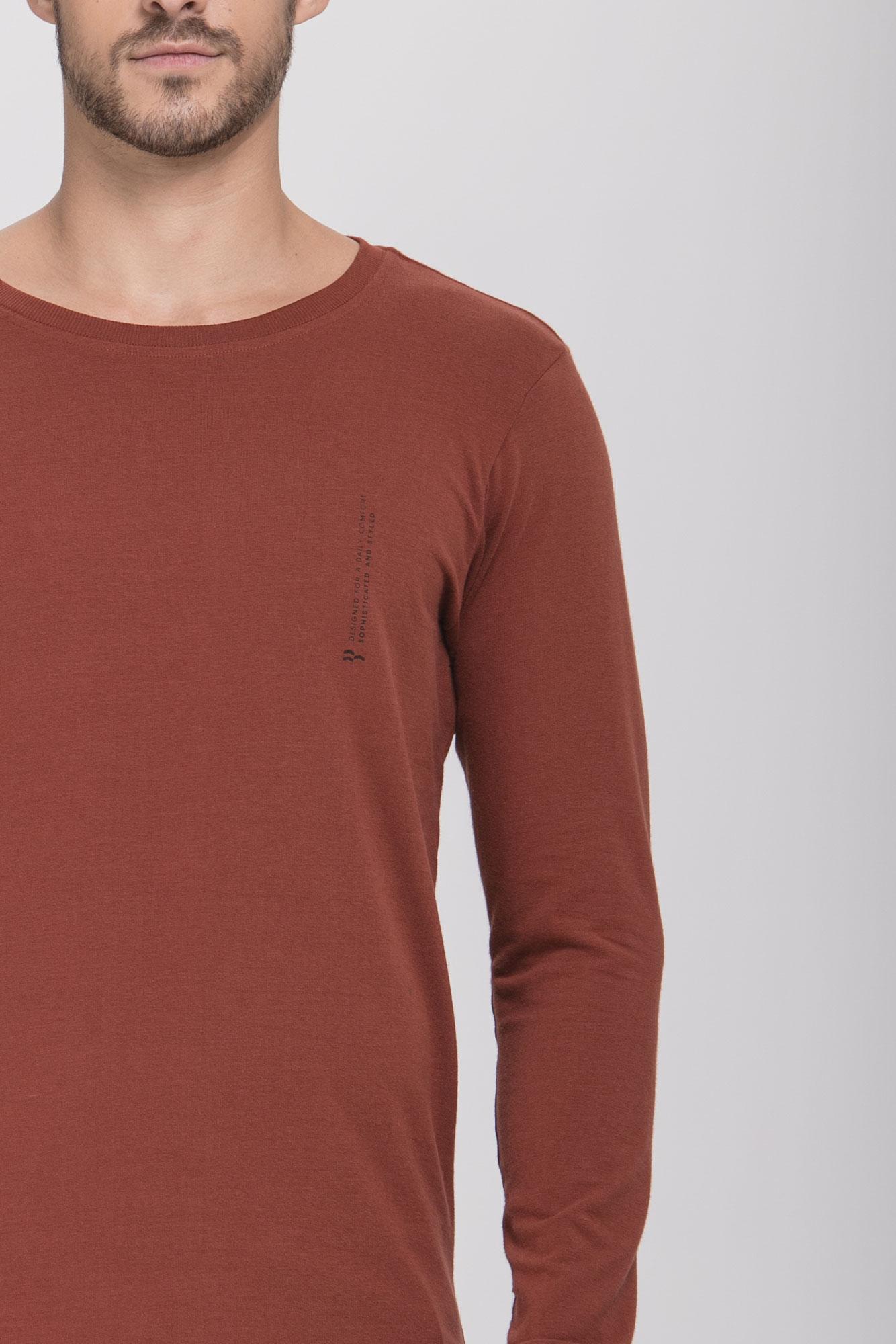 Camiseta Ml Suede Caramel
