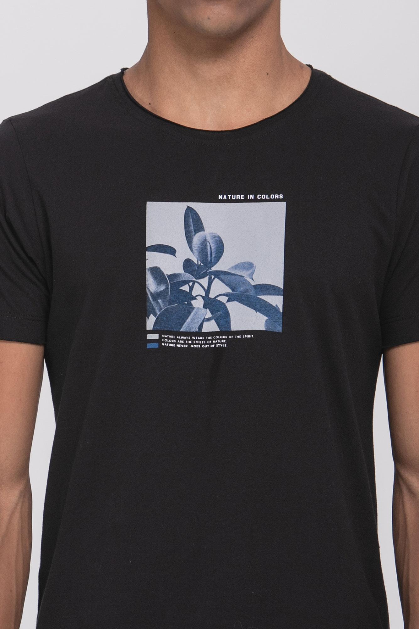 Camiseta Nature In Colors Black