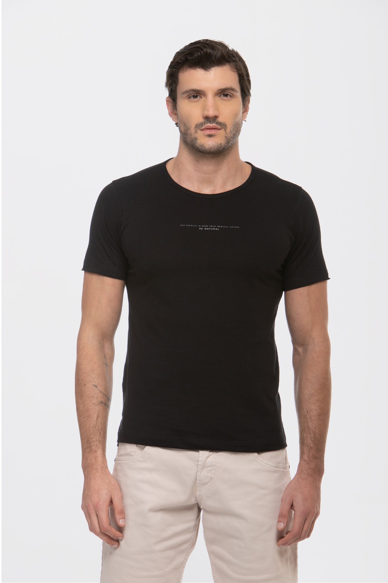 Camiseta Organic Be Natural Preta