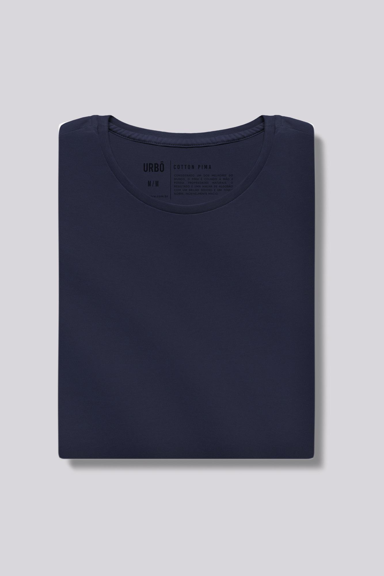 Camiseta Pima Azul