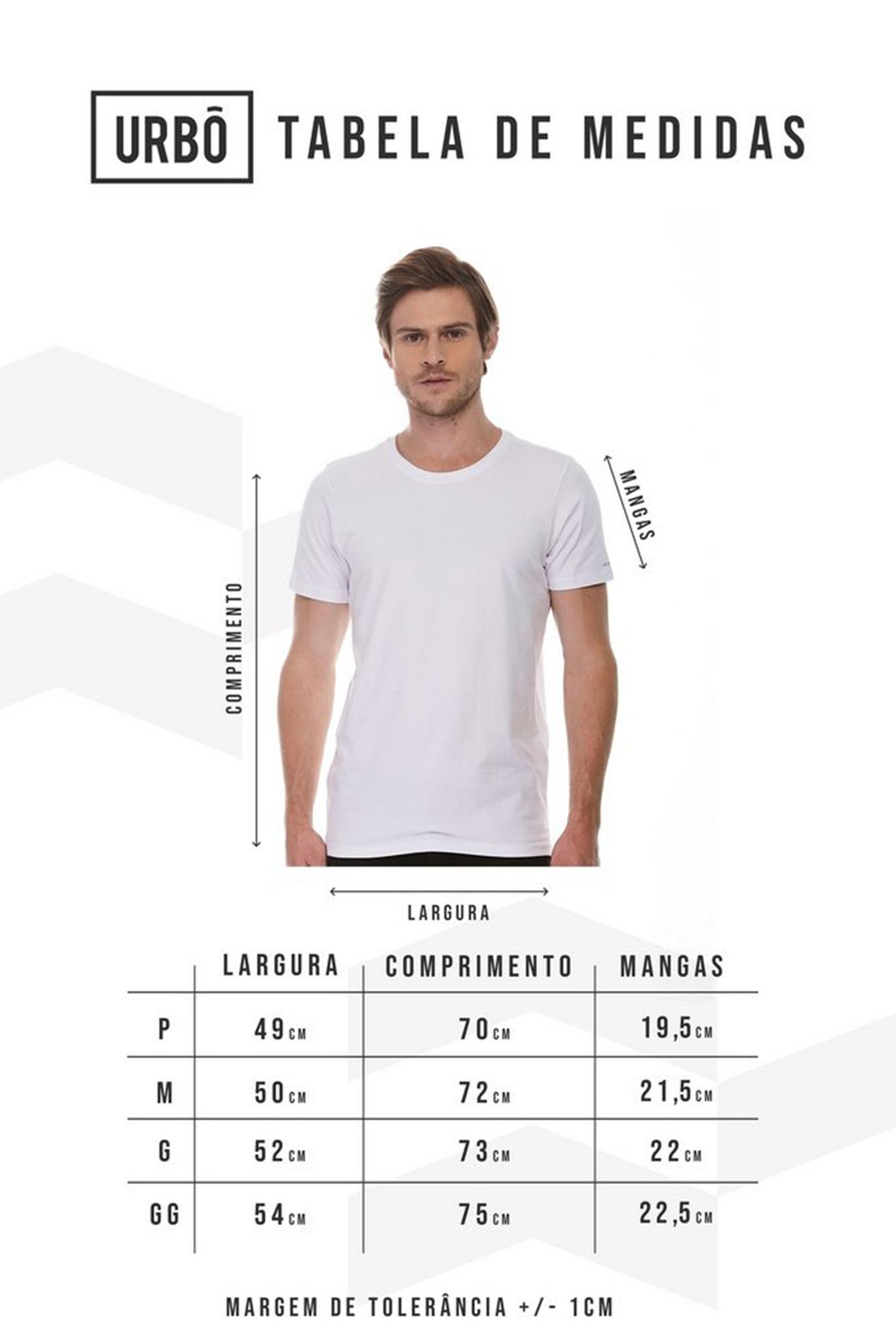 Camiseta Pima Branca