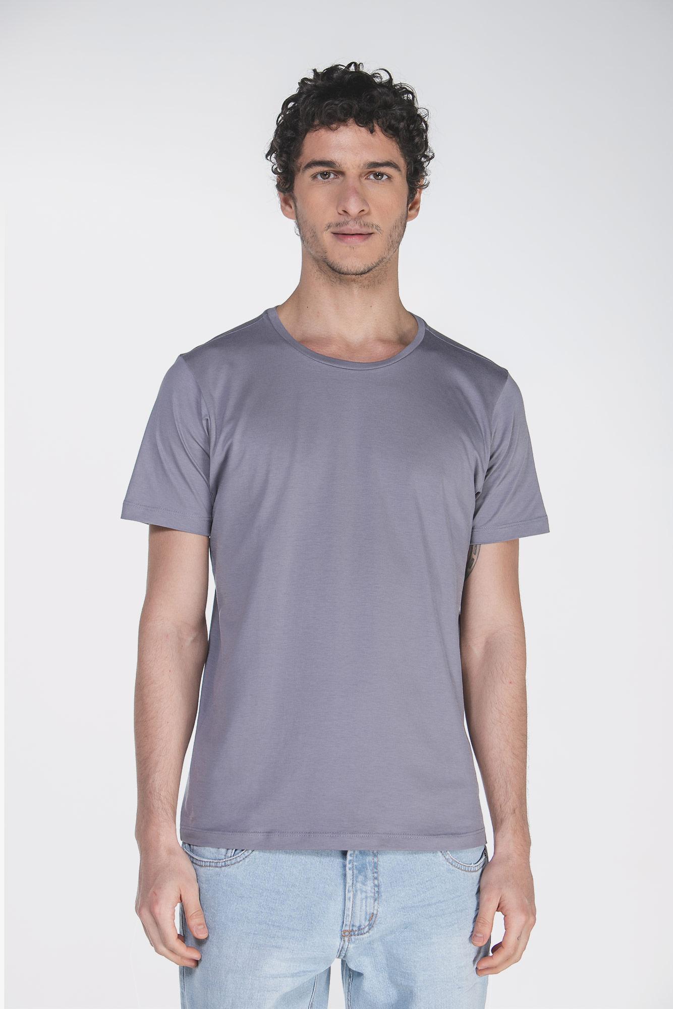 Camiseta Pima Cinza