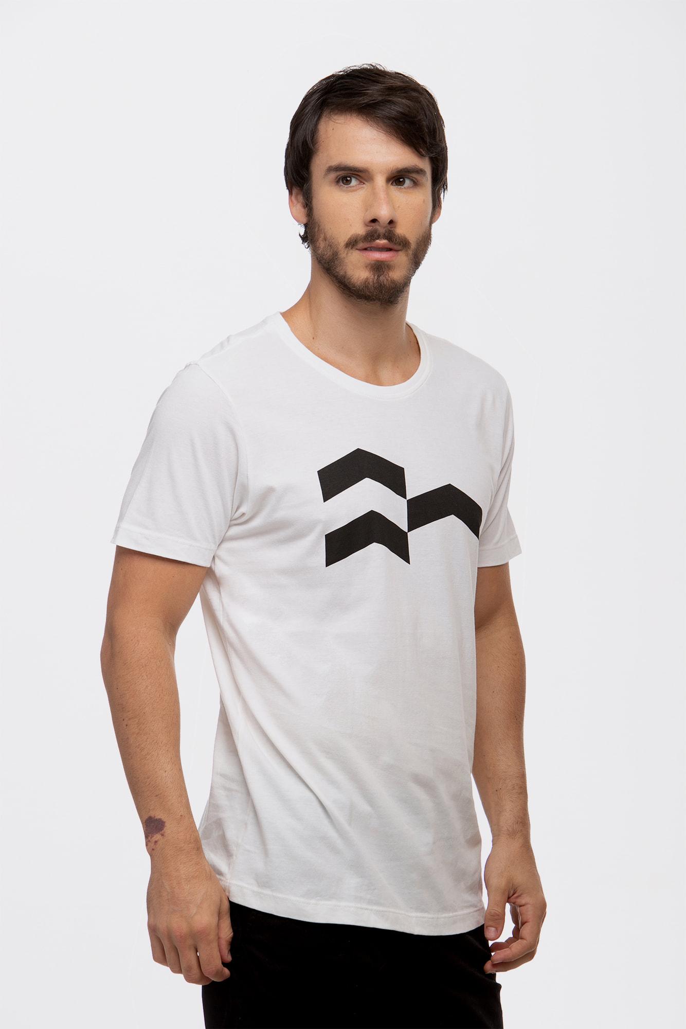 Camiseta Símbolo Gráfico Off