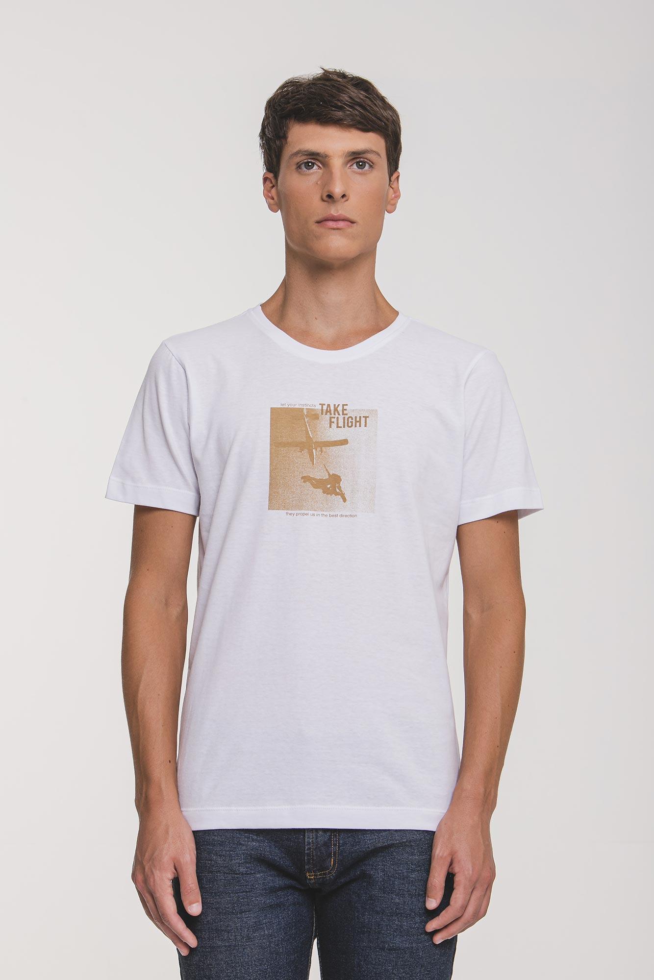 Camiseta Take Flight Branca