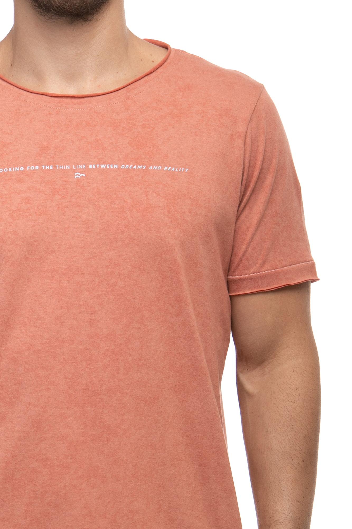 Camiseta Thin Line Salmão