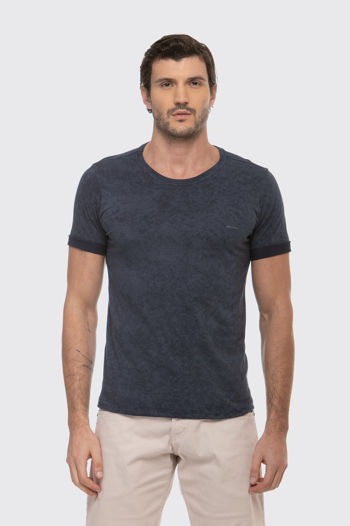 Camiseta Washed Blue