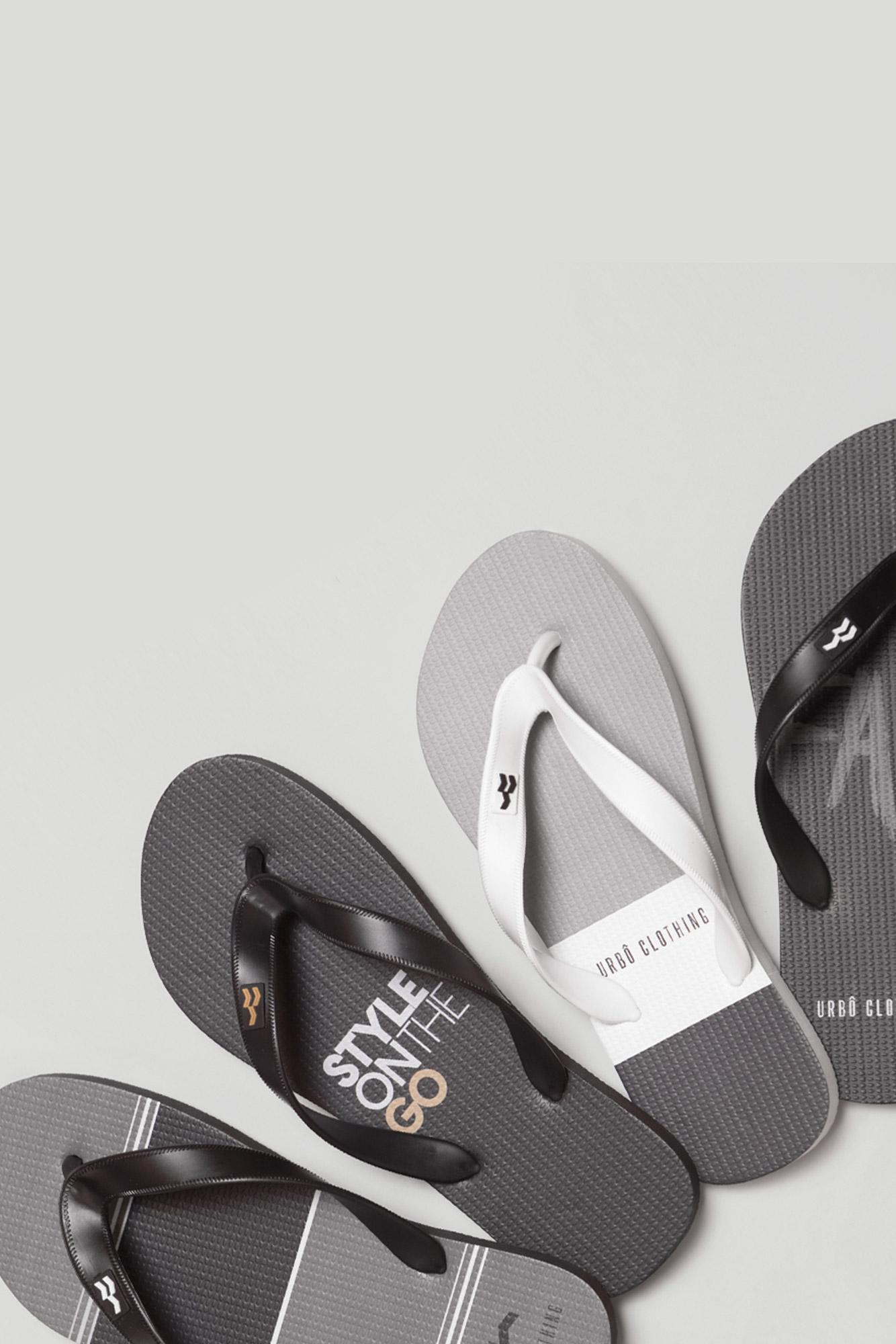 Chinelo Basic Gray