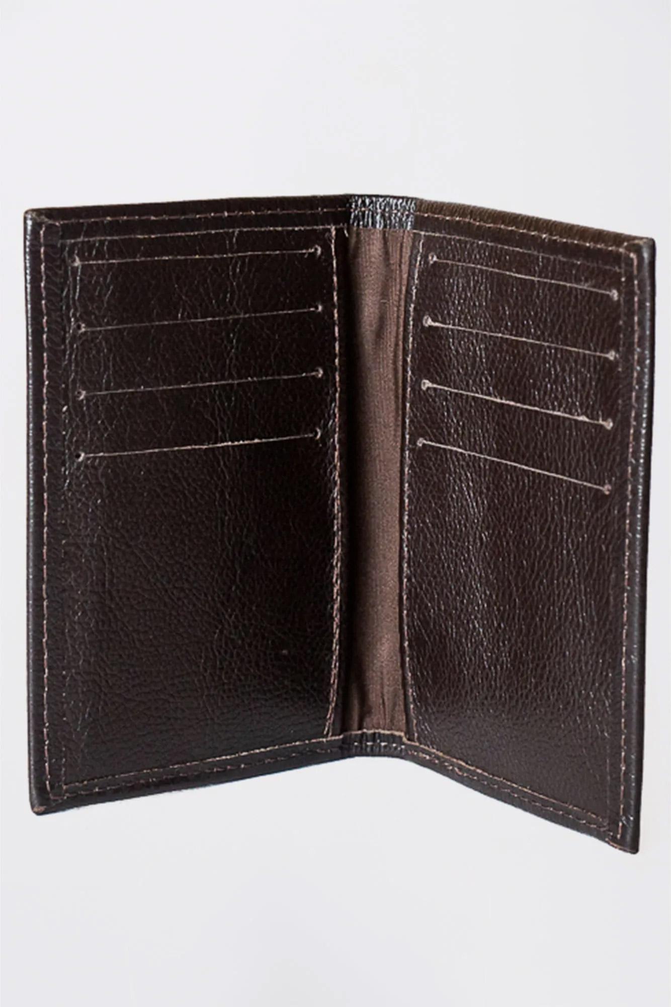 Porta Cartão Classic Marrom Fly