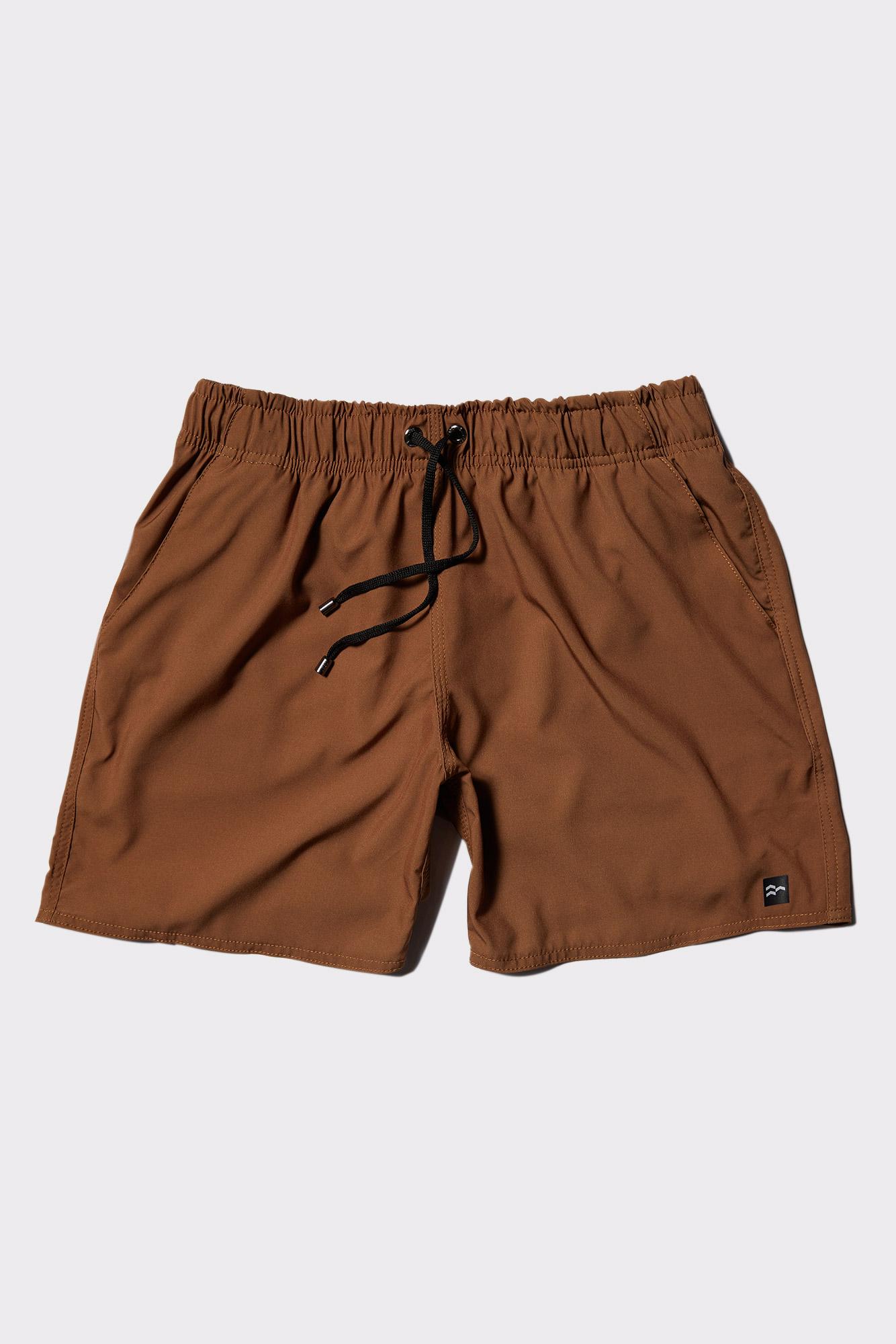 Short Tactel Basic Brown