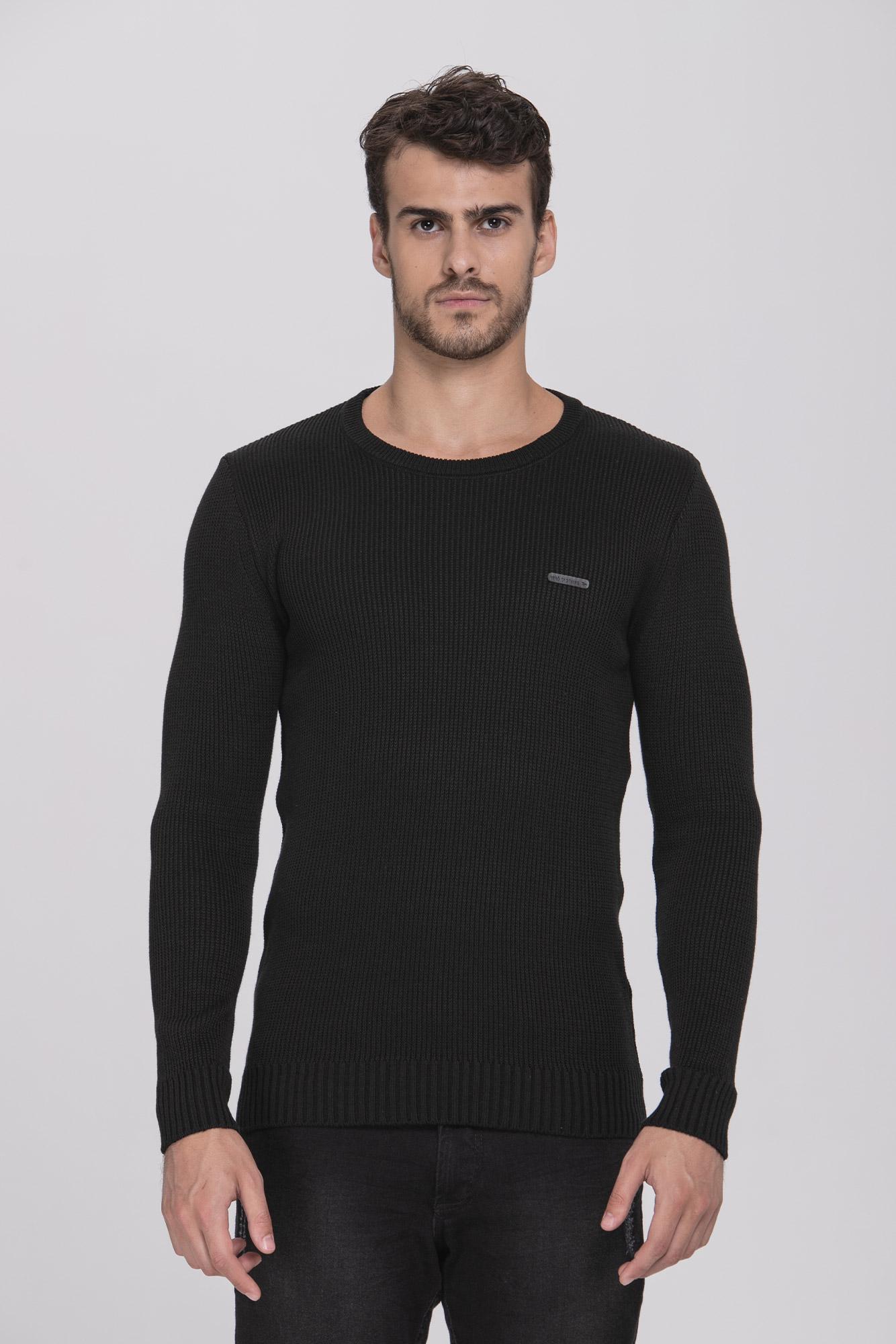 Suéter Basic Black