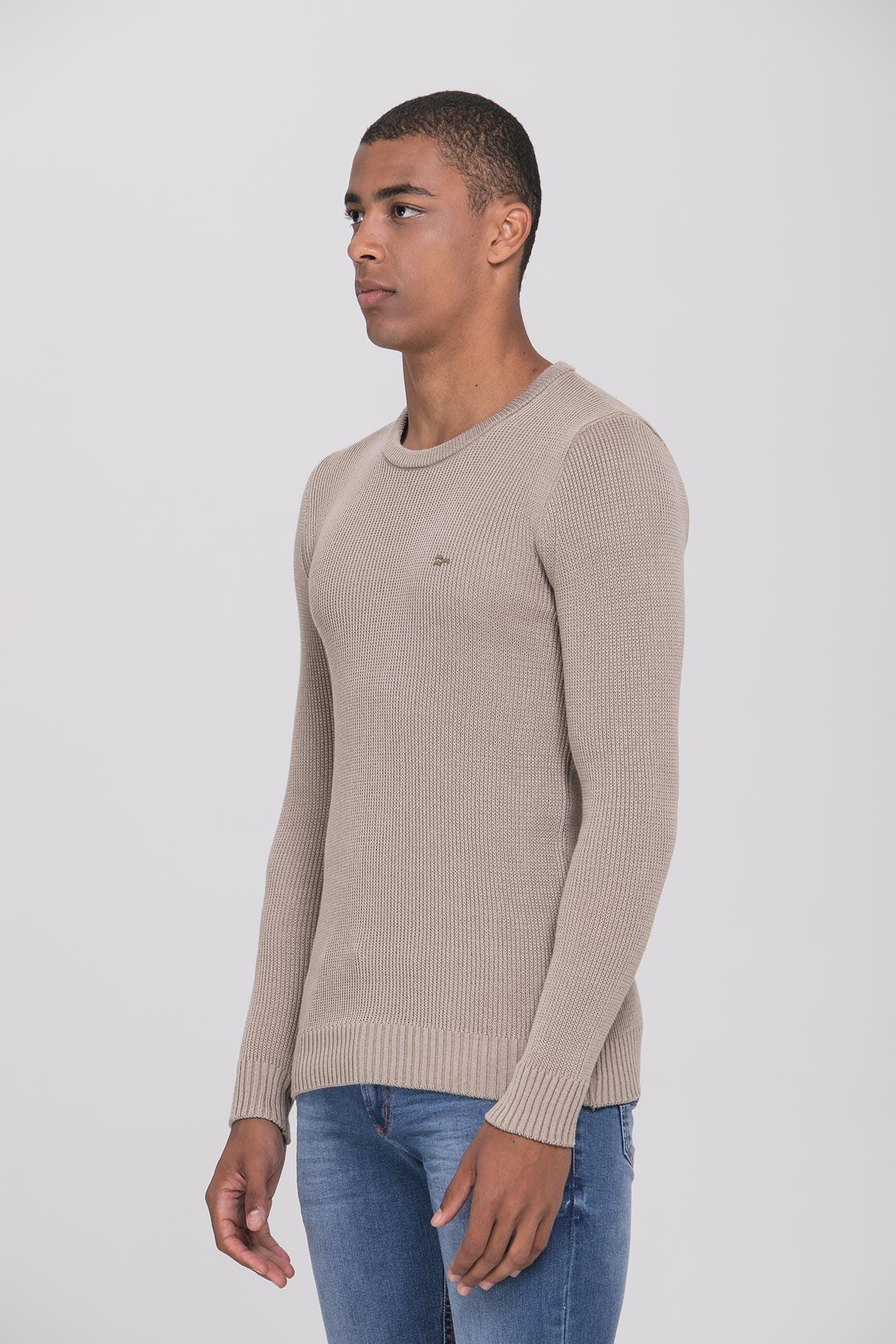 Suéter Basic Cream