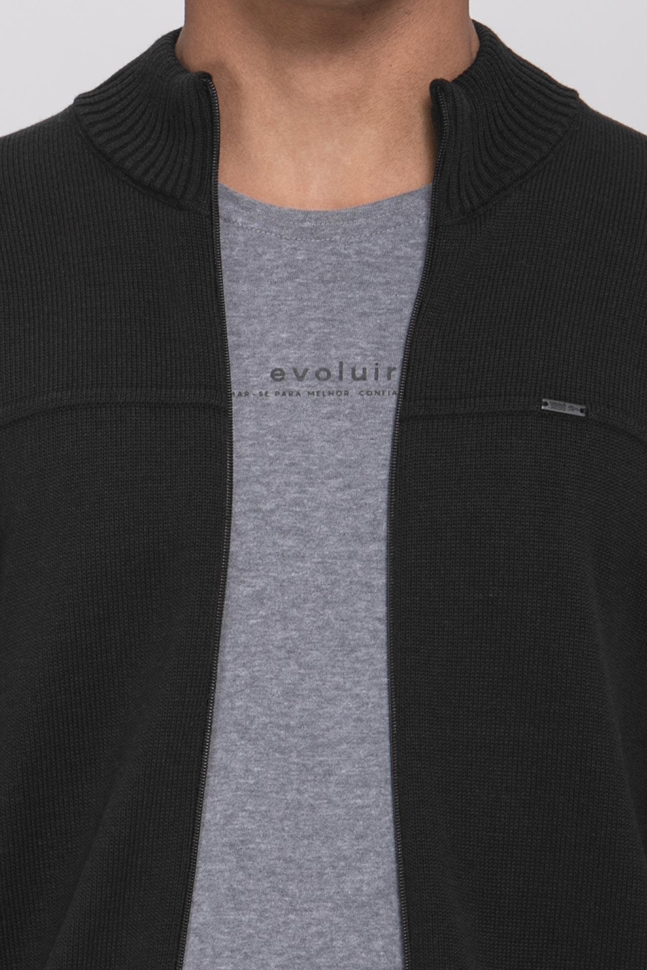 Suéter Black Zip